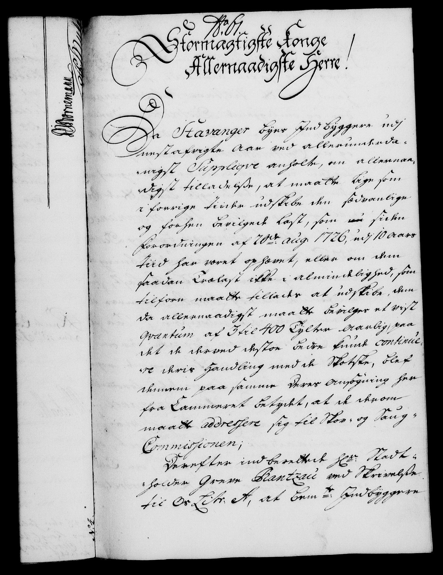 RA, Rentekammeret, Kammerkanselliet, G/Gf/Gfa/L0020: Norsk relasjons- og resolusjonsprotokoll (merket RK 52.20), 1737, s. 500