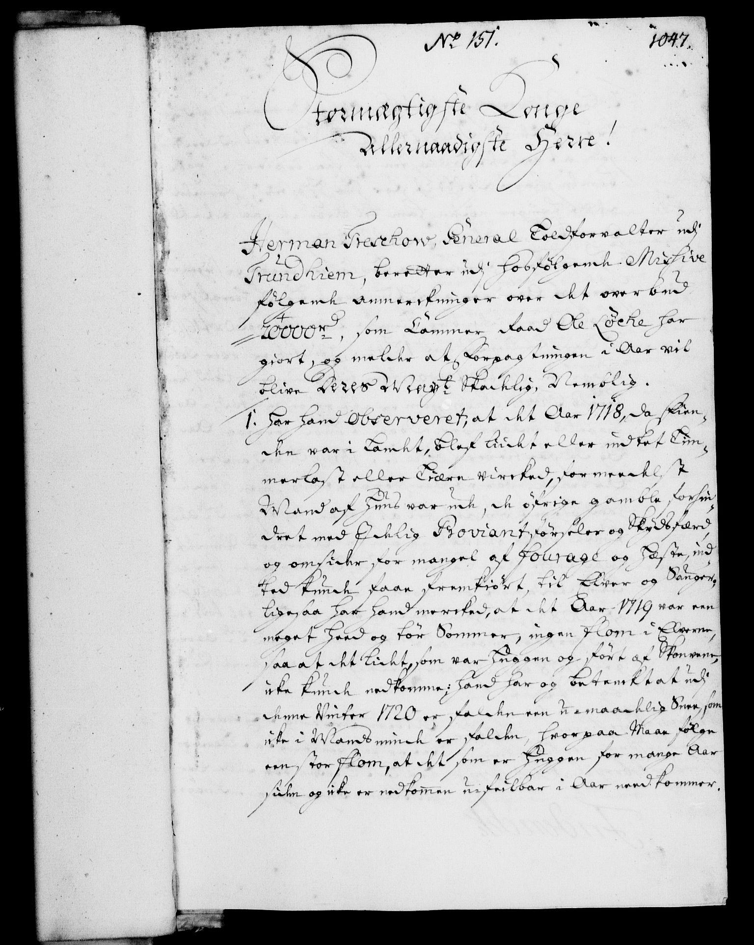 RA, Rentekammeret, Kammerkanselliet, G/Gf/Gfa/L0003: Norsk relasjons- og resolusjonsprotokoll (merket RK 52.3), 1720, s. 24