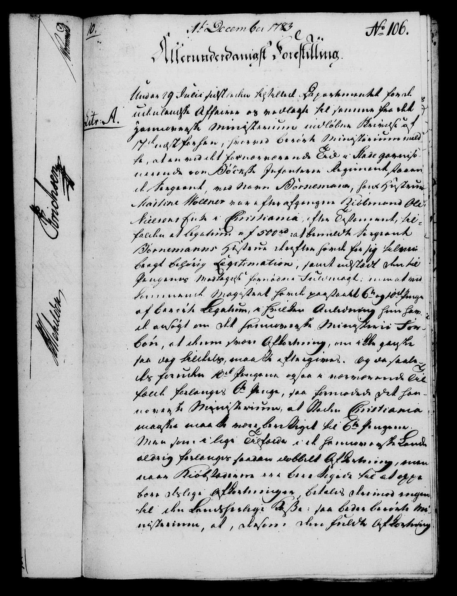 RA, Rentekammeret, Kammerkanselliet, G/Gf/Gfa/L0065: Norsk relasjons- og resolusjonsprotokoll (merket RK 52.65), 1783, s. 775