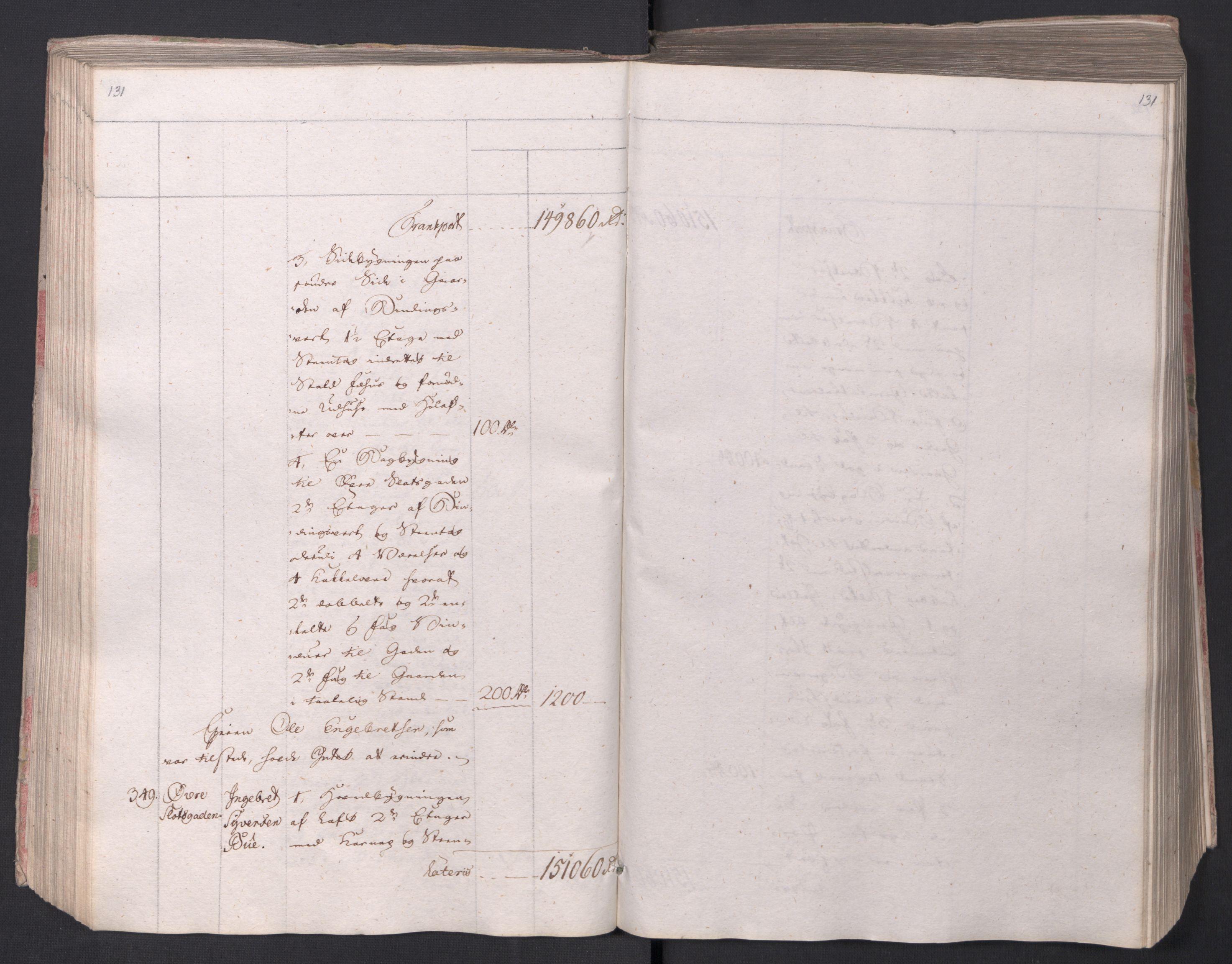 SAO, Kristiania stiftamt, I/Ia/L0015: Branntakster, 1797, s. 131