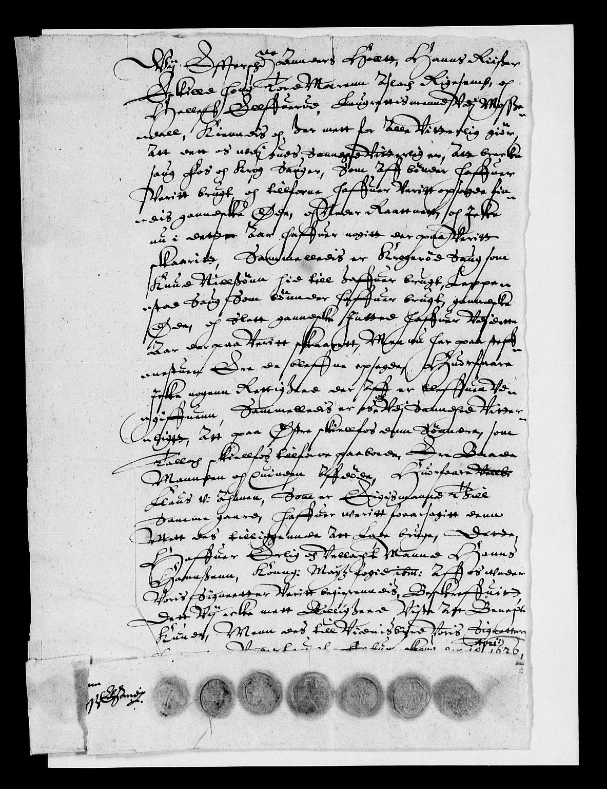RA, Rentekammeret inntil 1814, Reviderte regnskaper, Lensregnskaper, R/Rb/Rba/L0078: Akershus len, 1626