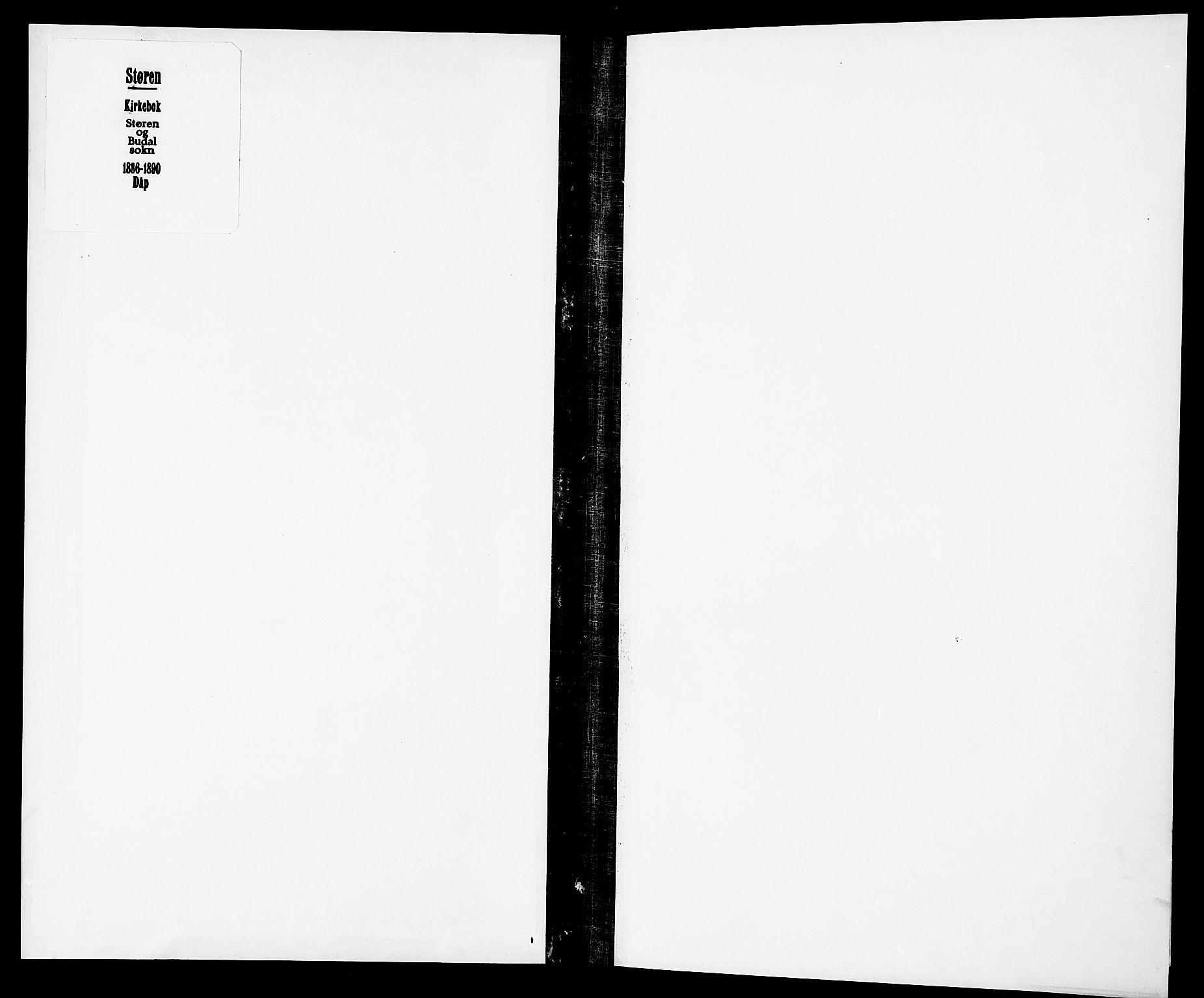 SAT, Ministerialprotokoller, klokkerbøker og fødselsregistre - Sør-Trøndelag, 687/L1003: Ministerialbok nr. 687A09, 1886-1890