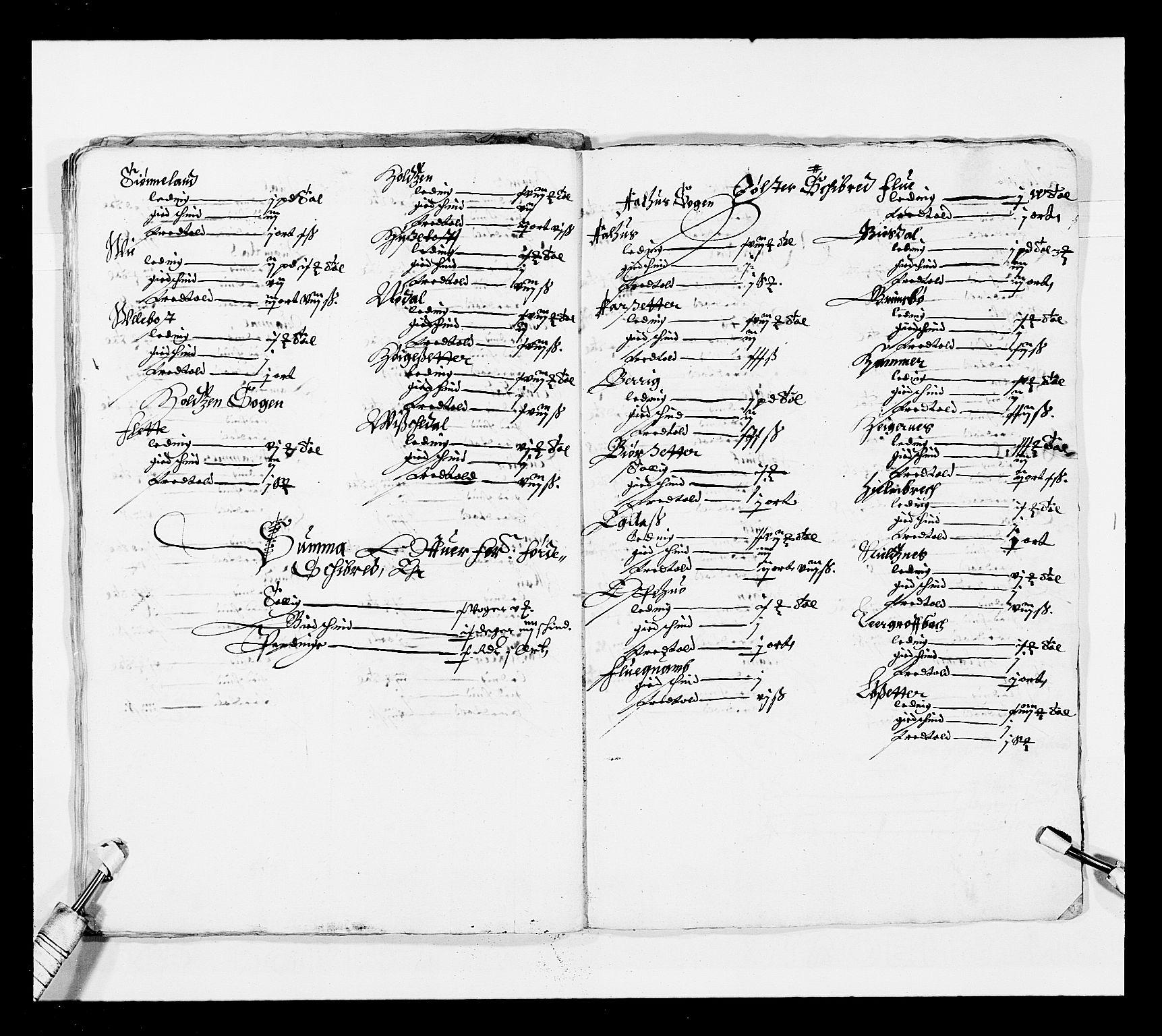 RA, Stattholderembetet 1572-1771, Ek/L0025: Jordebøker 1633-1658:, 1645-1646, s. 171
