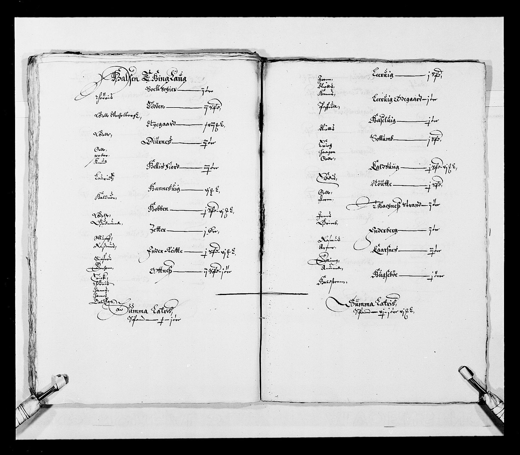 RA, Stattholderembetet 1572-1771, Ek/L0028: Jordebøker 1633-1658:, 1645-1646, s. 37