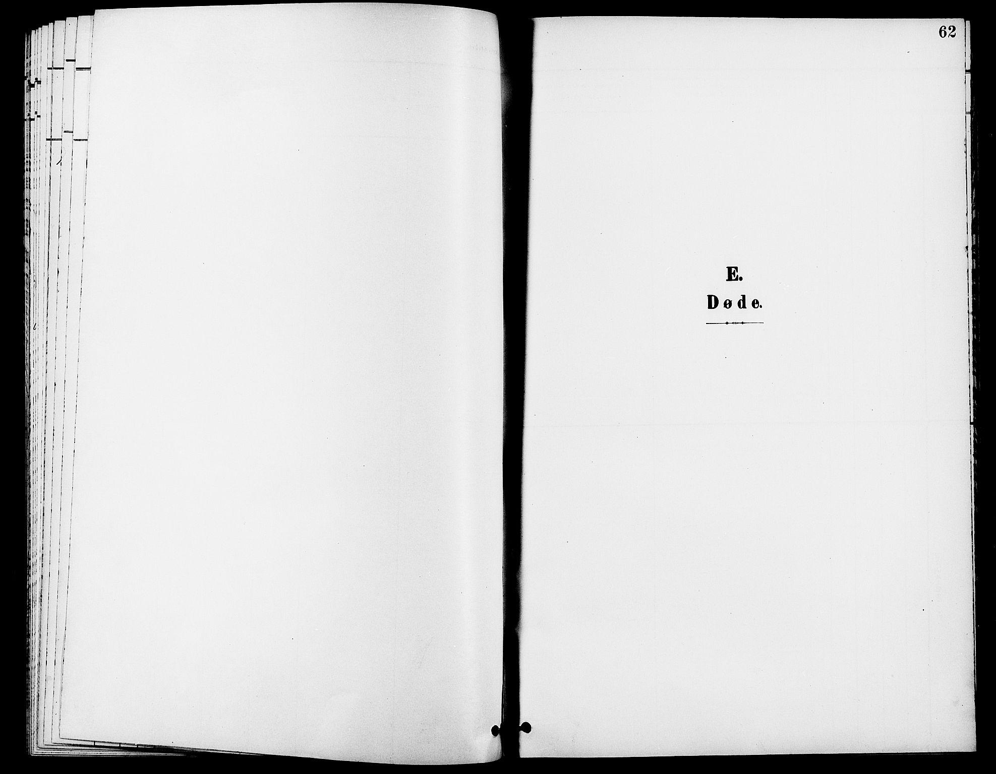 SAH, Rendalen prestekontor, H/Ha/Haa/L0008: Ministerialbok nr. 8, 1898-1910, s. 62