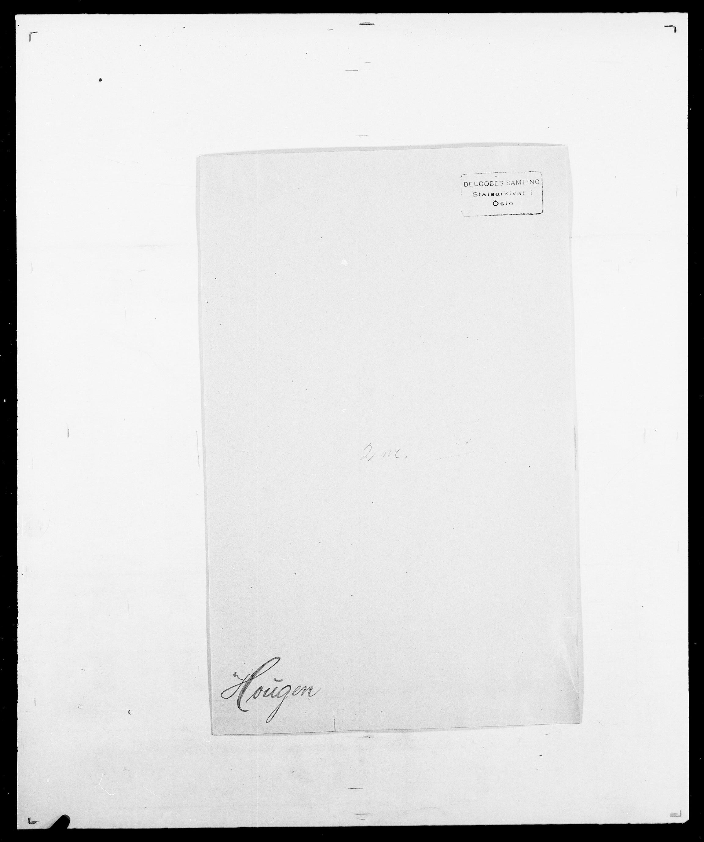 SAO, Delgobe, Charles Antoine - samling, D/Da/L0018: Hoch - Howert, s. 1017