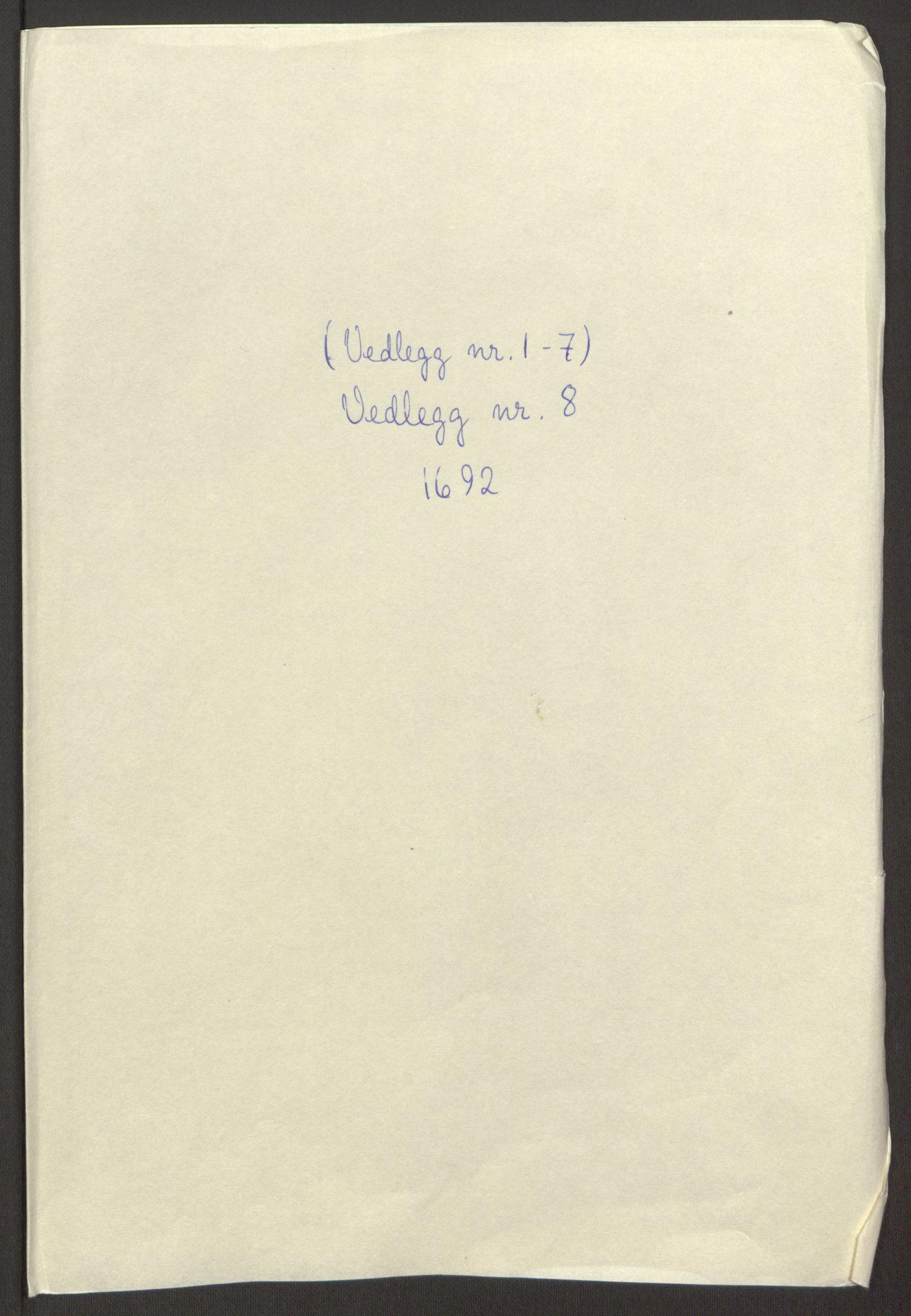 RA, Rentekammeret inntil 1814, Reviderte regnskaper, Fogderegnskap, R65/L4504: Fogderegnskap Helgeland, 1691-1692, s. 312