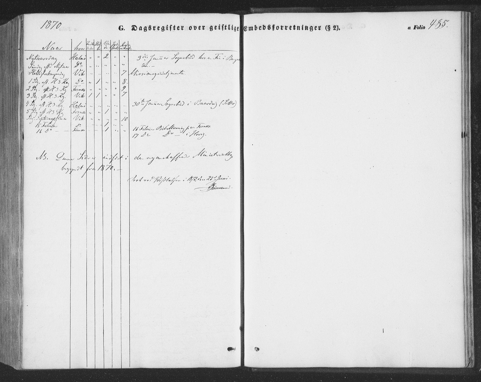 SAT, Ministerialprotokoller, klokkerbøker og fødselsregistre - Nord-Trøndelag, 773/L0615: Ministerialbok nr. 773A06, 1857-1870, s. 485