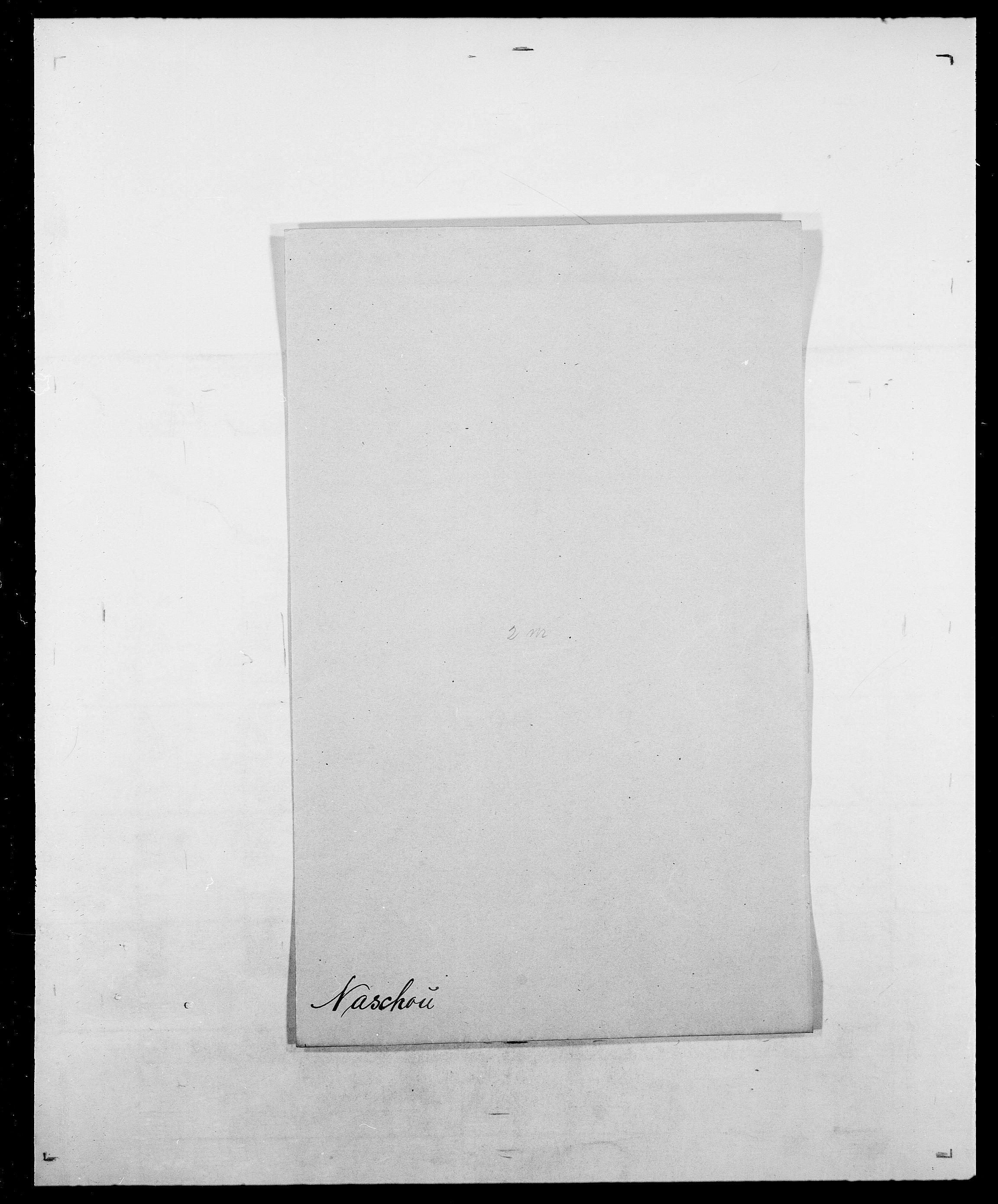 SAO, Delgobe, Charles Antoine - samling, D/Da/L0028: Naaden - Nøvik, s. 60