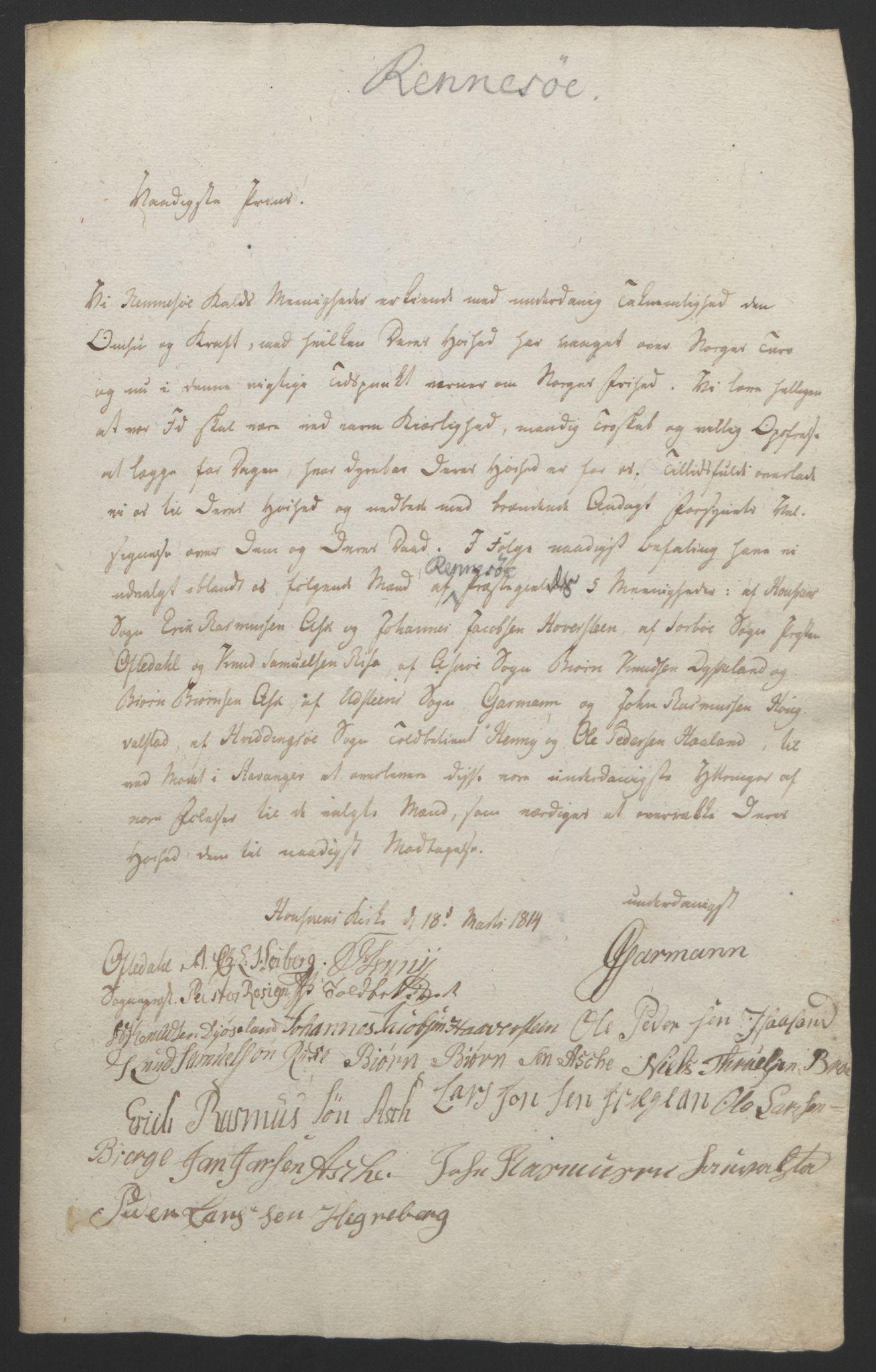 RA, Statsrådssekretariatet, D/Db/L0008: Fullmakter for Eidsvollsrepresentantene i 1814. , 1814, s. 238