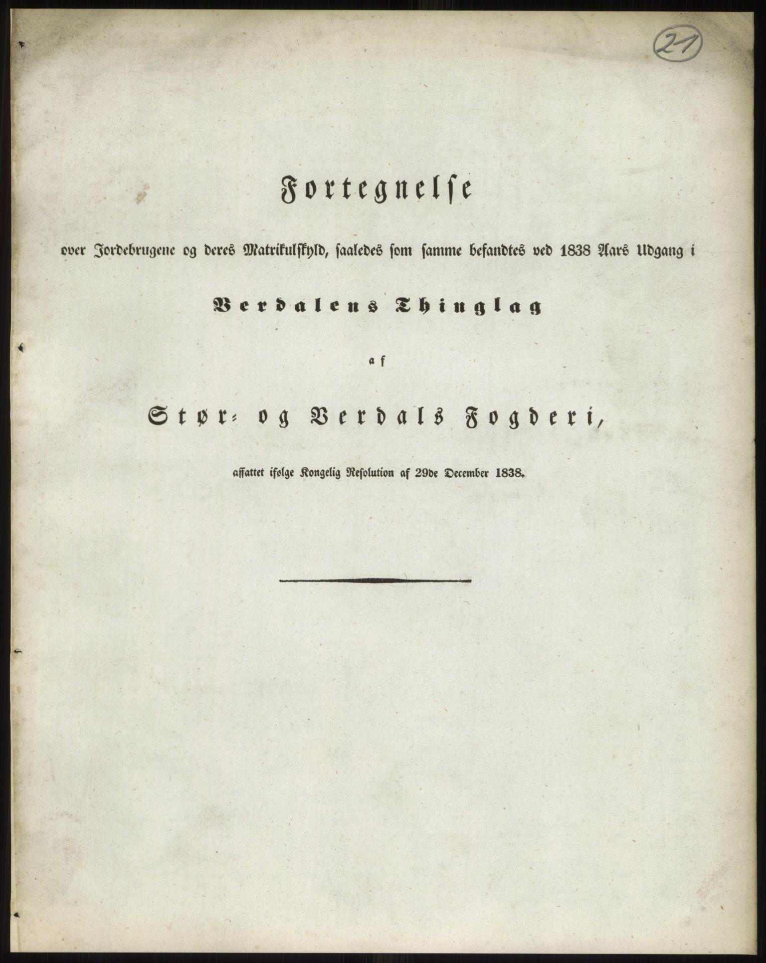 RA, 1838-matrikkelen (publikasjon)*, 1838, s. 21