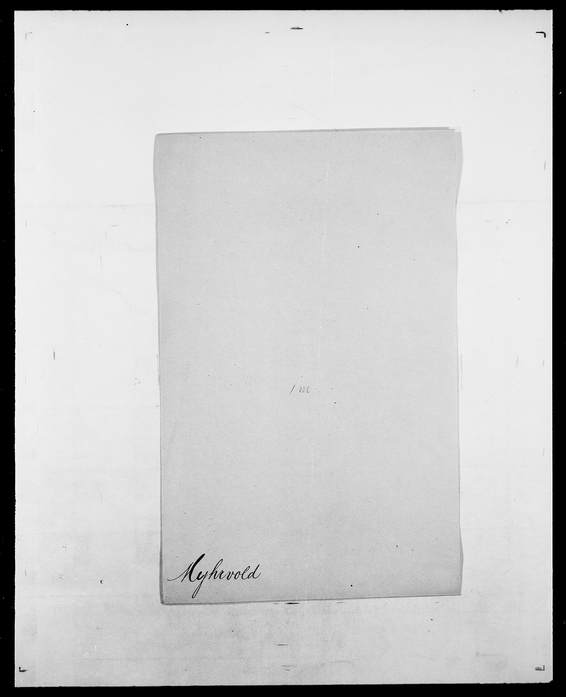 SAO, Delgobe, Charles Antoine - samling, D/Da/L0027: Morath - v. Møsting, s. 355