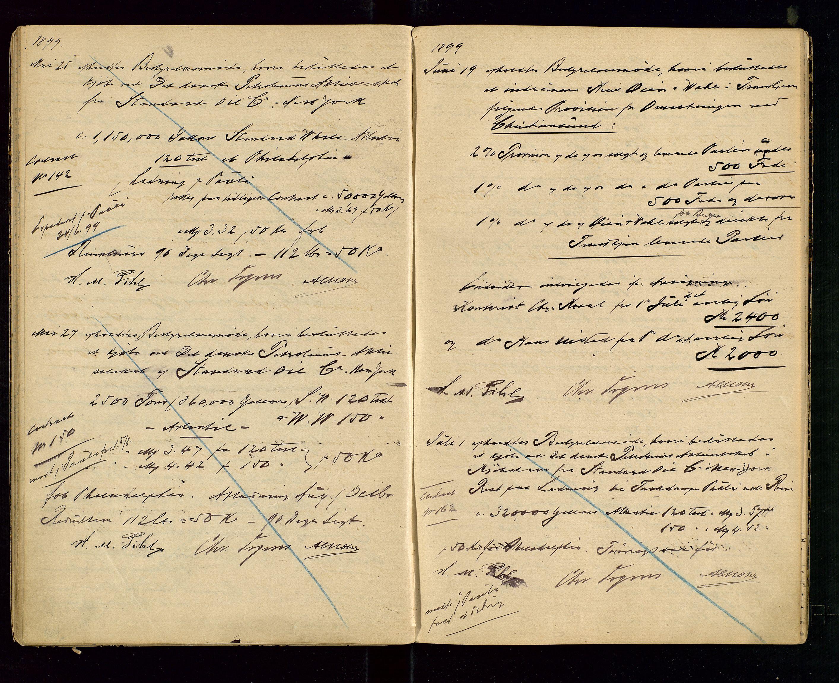 SAST, PA 1533 - A/S Vestlandske Petroleumscompani, A/Aa/L0001: Generalforsamlinger og styreprotokoller, 1890-1907, s. 36