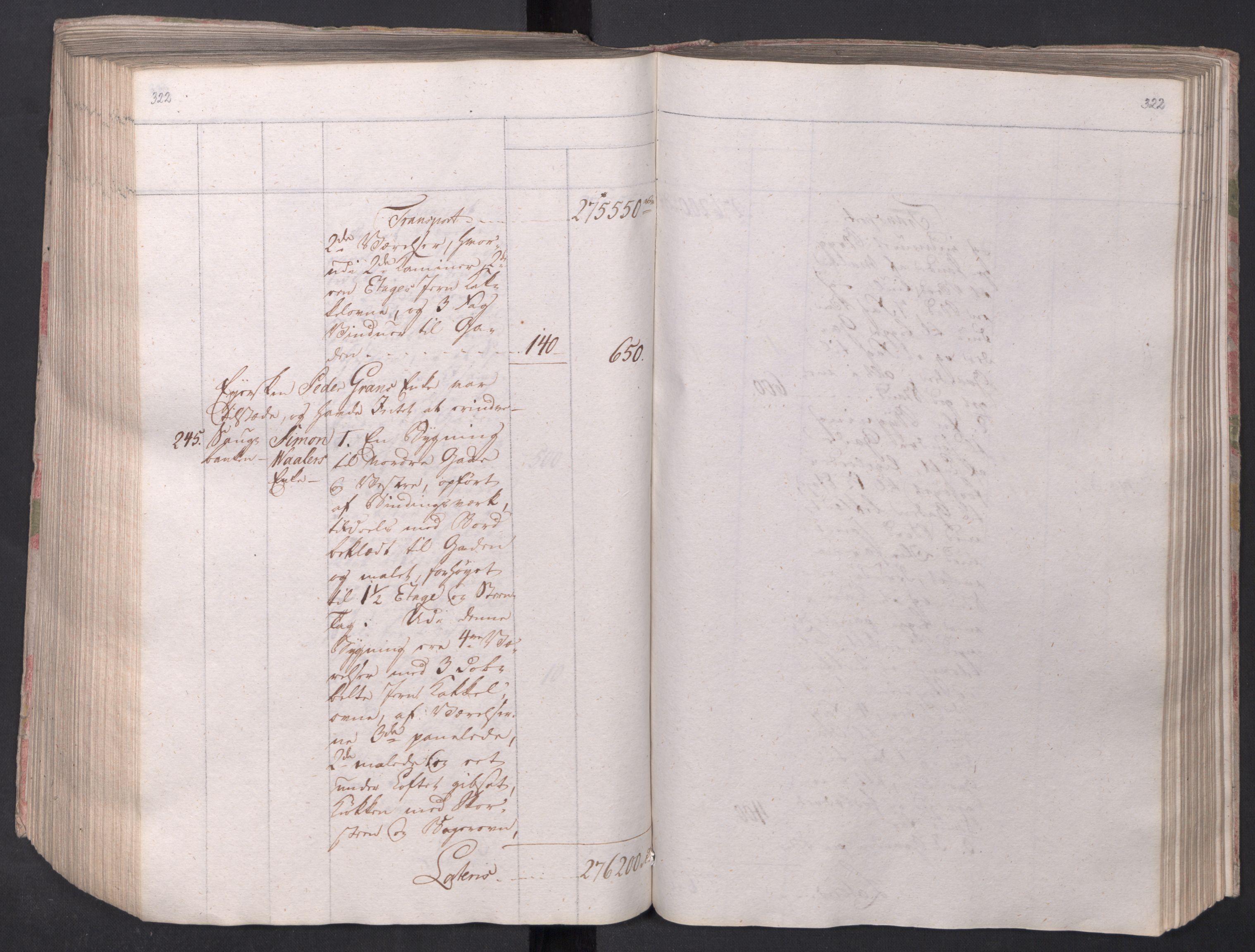 SAO, Kristiania stiftamt, I/Ia/L0015: Branntakster, 1797, s. 322