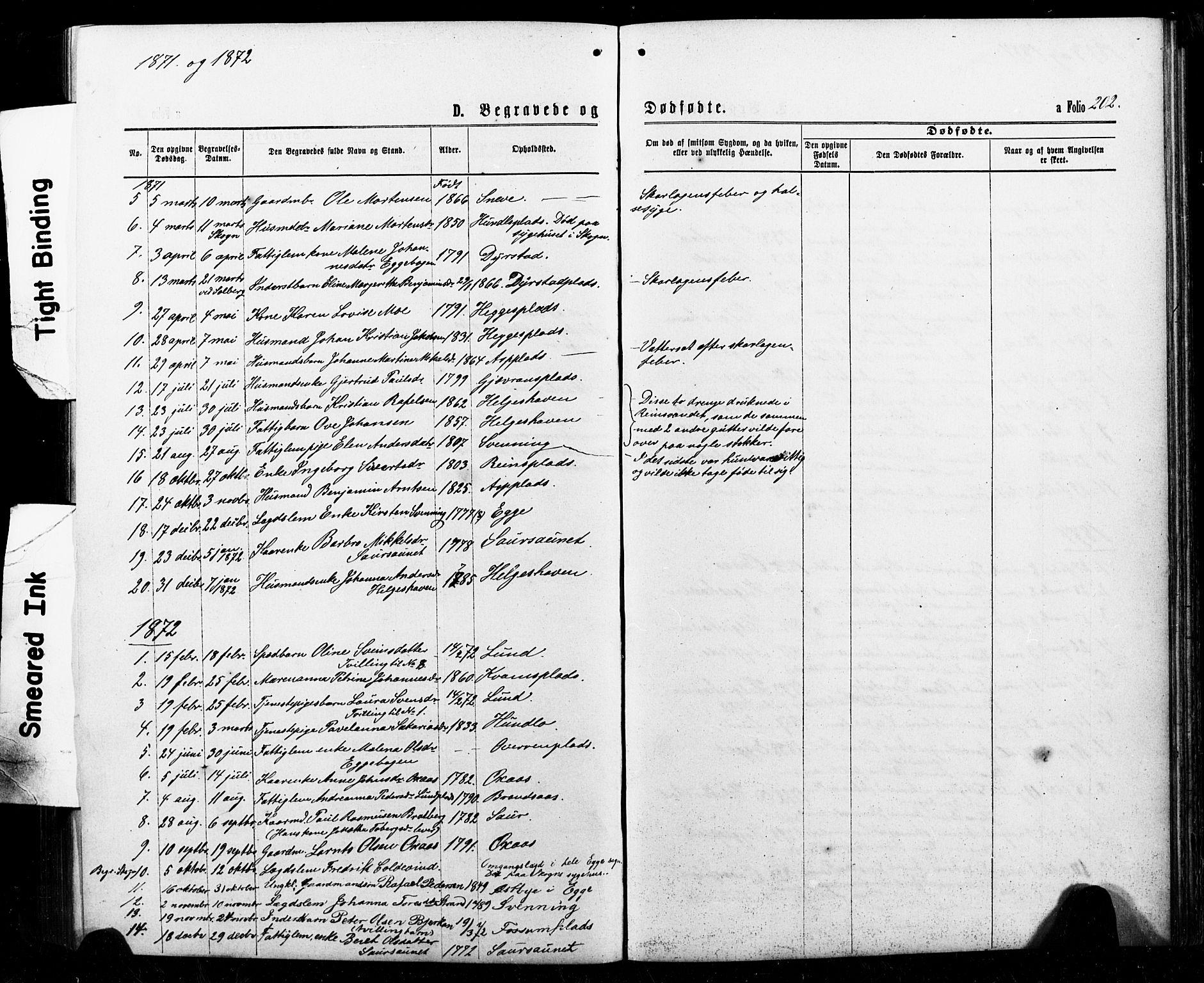 SAT, Ministerialprotokoller, klokkerbøker og fødselsregistre - Nord-Trøndelag, 740/L0380: Klokkerbok nr. 740C01, 1868-1902, s. 202