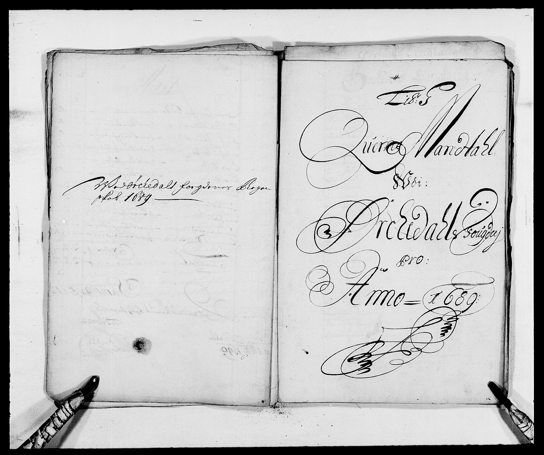 RA, Rentekammeret inntil 1814, Reviderte regnskaper, Fogderegnskap, R58/L3936: Fogderegnskap Orkdal, 1689-1690, s. 72