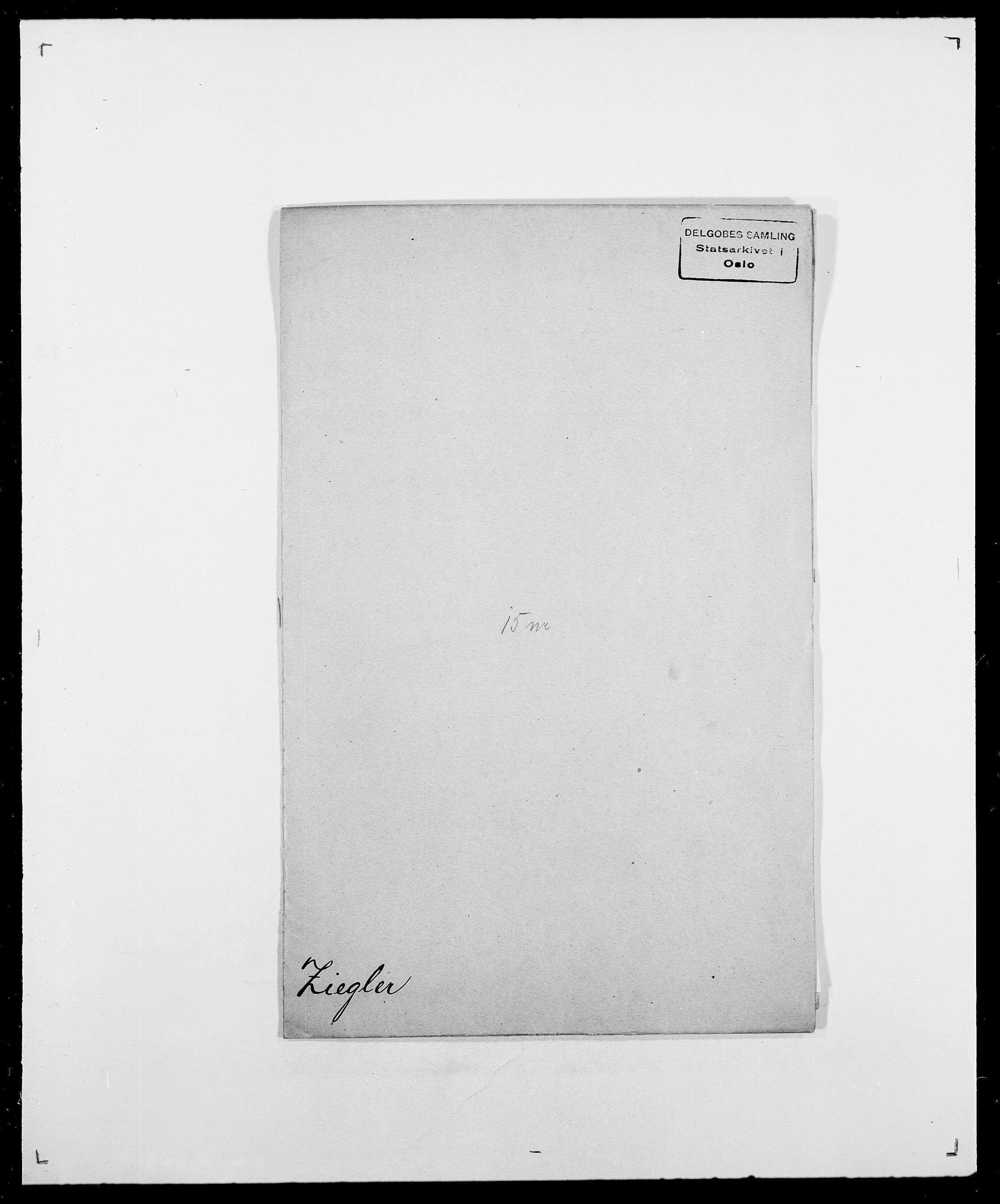 SAO, Delgobe, Charles Antoine - samling, D/Da/L0043: Wulfsberg - v. Zanten, s. 126