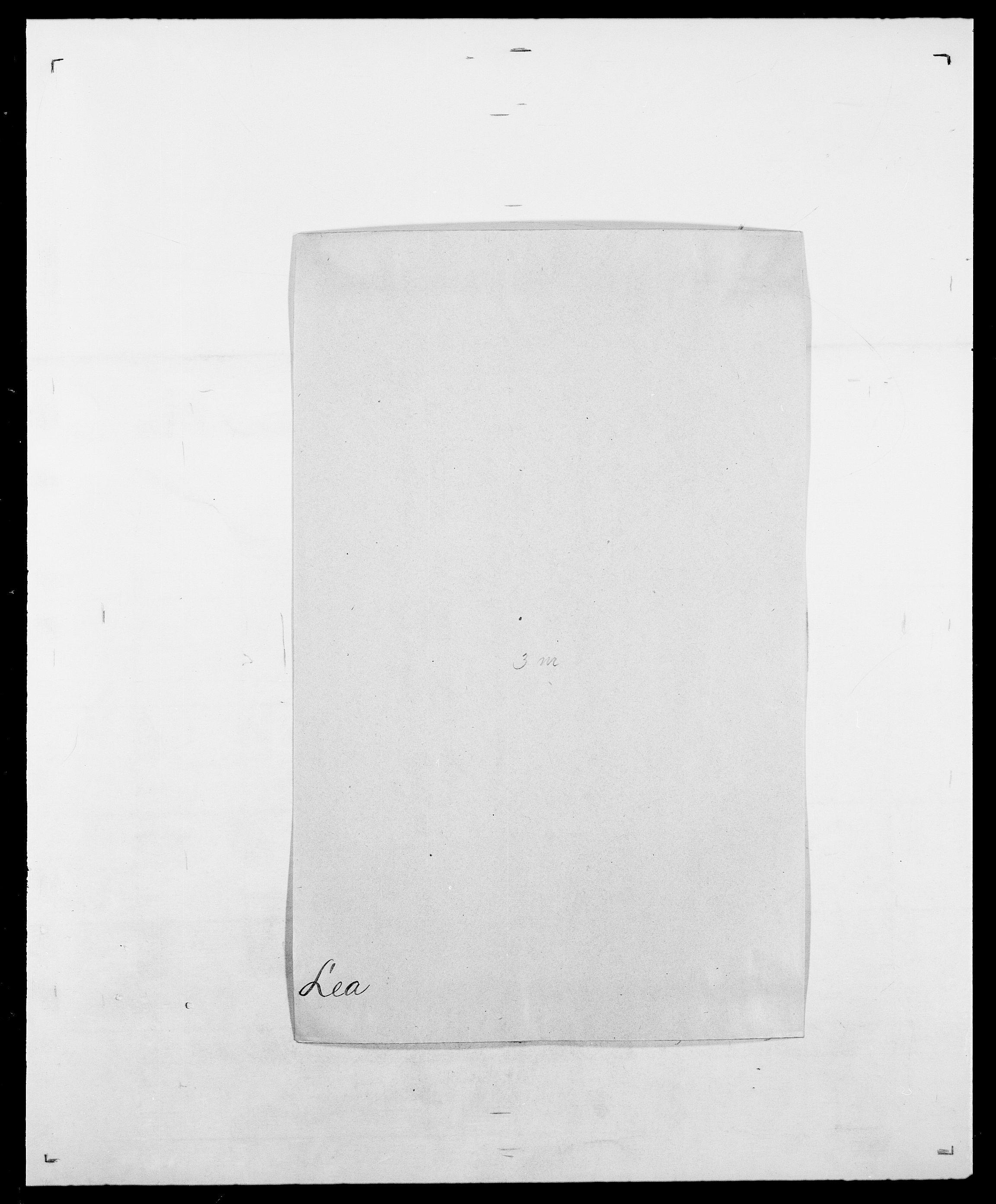 SAO, Delgobe, Charles Antoine - samling, D/Da/L0023: Lau - Lirvyn, s. 43