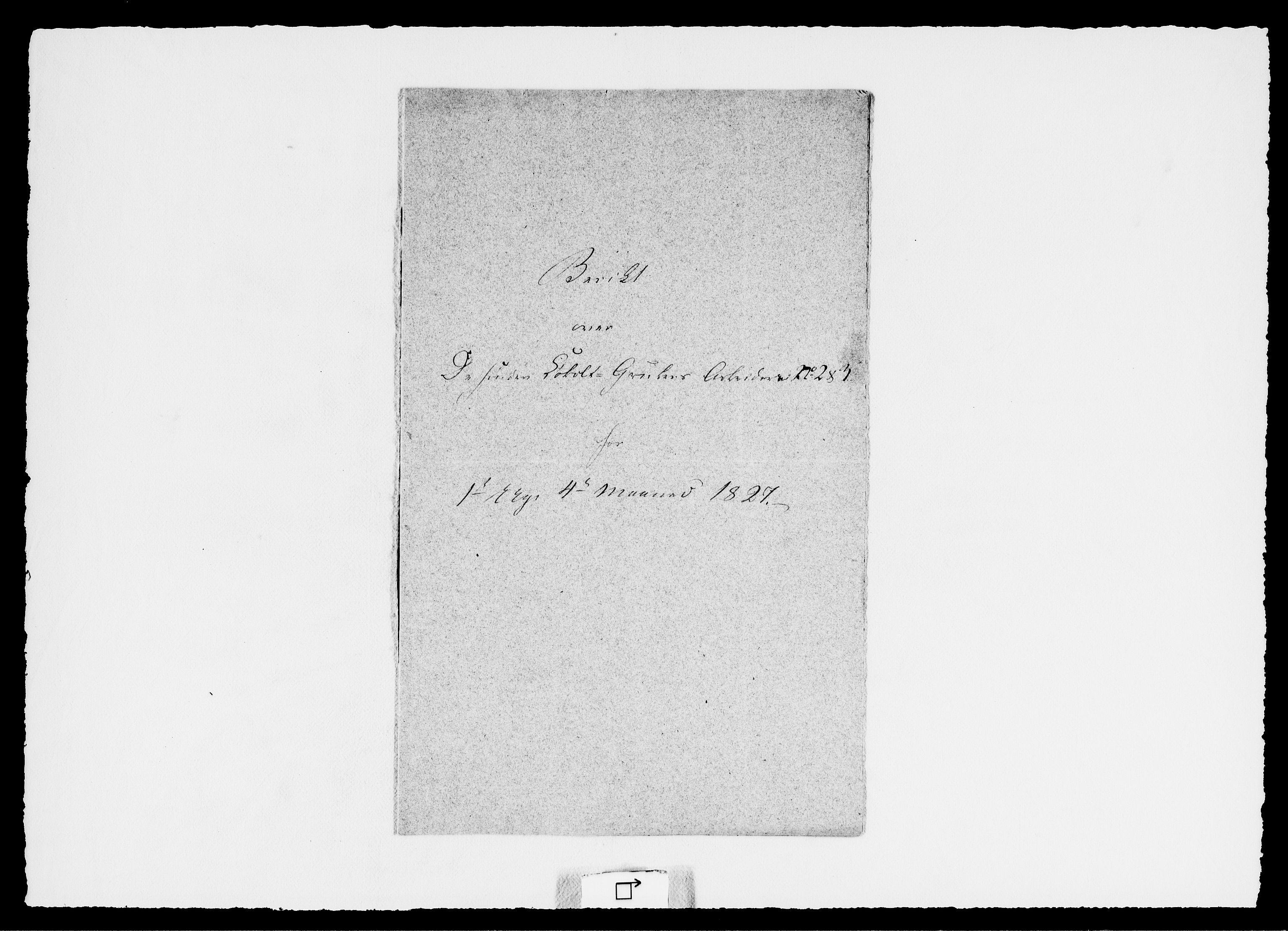 RA, Modums Blaafarveværk, G/Ge/L0329, 1827, s. 2
