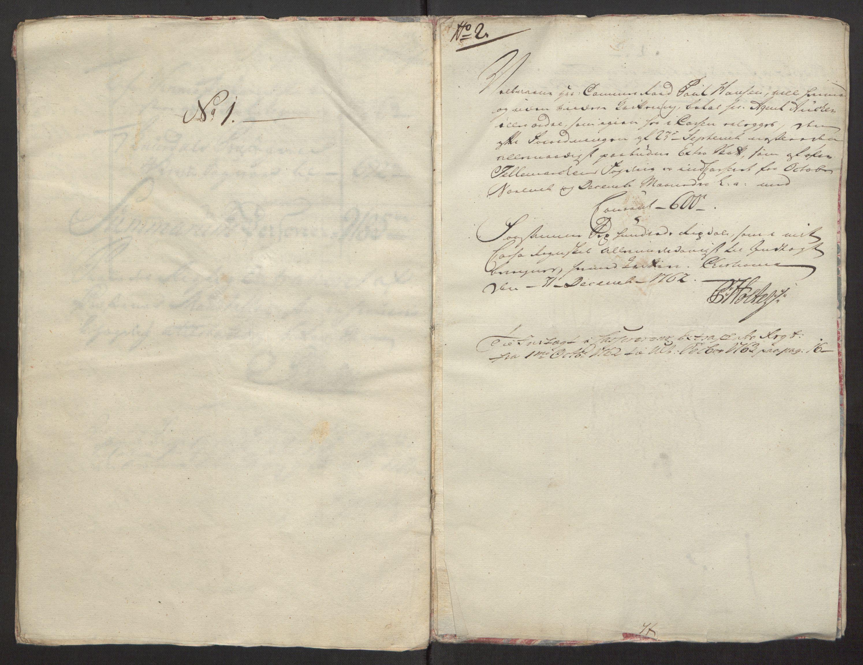 RA, Rentekammeret inntil 1814, Reviderte regnskaper, Fogderegnskap, R38/L2293: Ekstraskatten Øvre Telemark, 1762-1770, s. 8