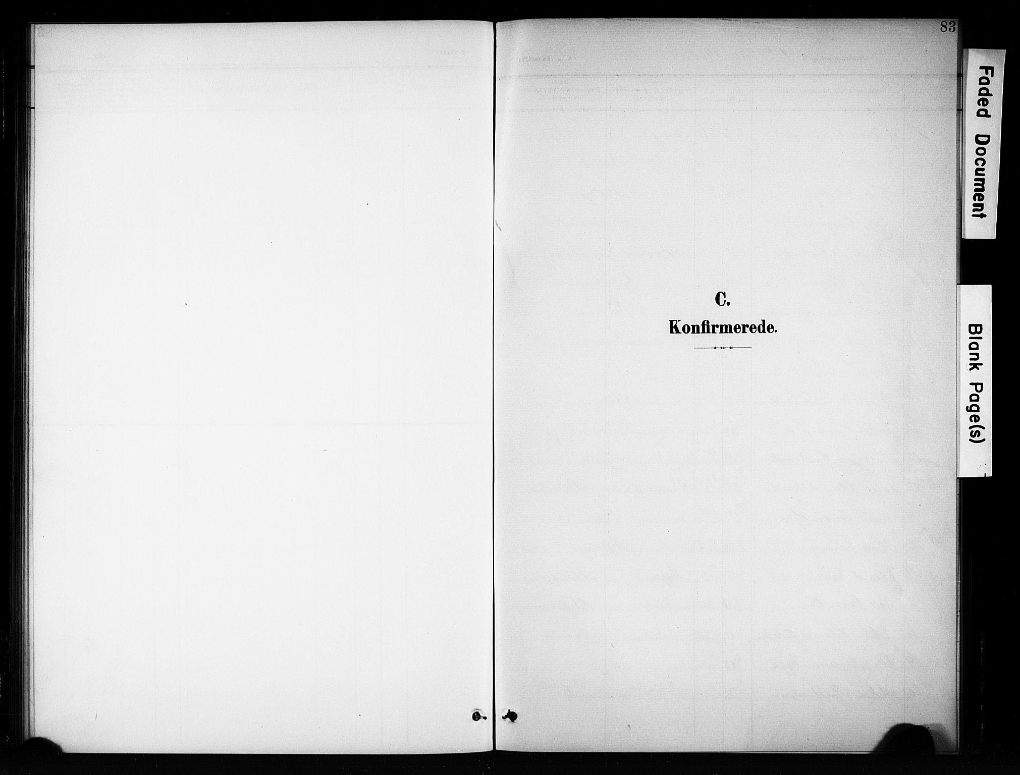 SAH, Brandbu prestekontor, Klokkerbok nr. 5, 1900-1913, s. 83