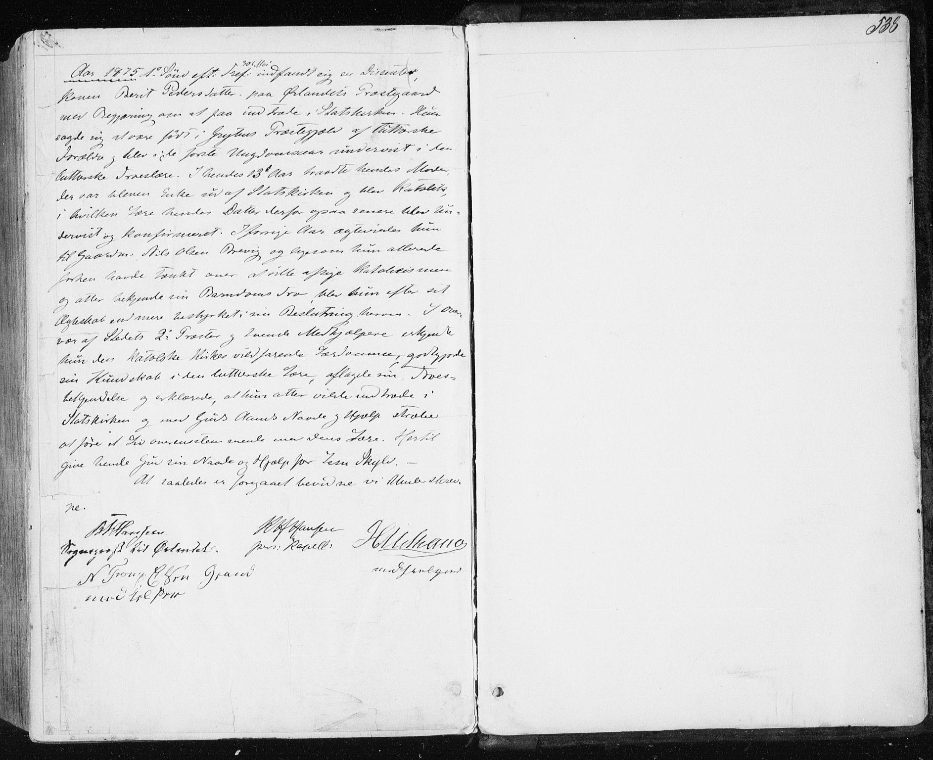 SAT, Ministerialprotokoller, klokkerbøker og fødselsregistre - Sør-Trøndelag, 659/L0737: Ministerialbok nr. 659A07, 1857-1875, s. 538