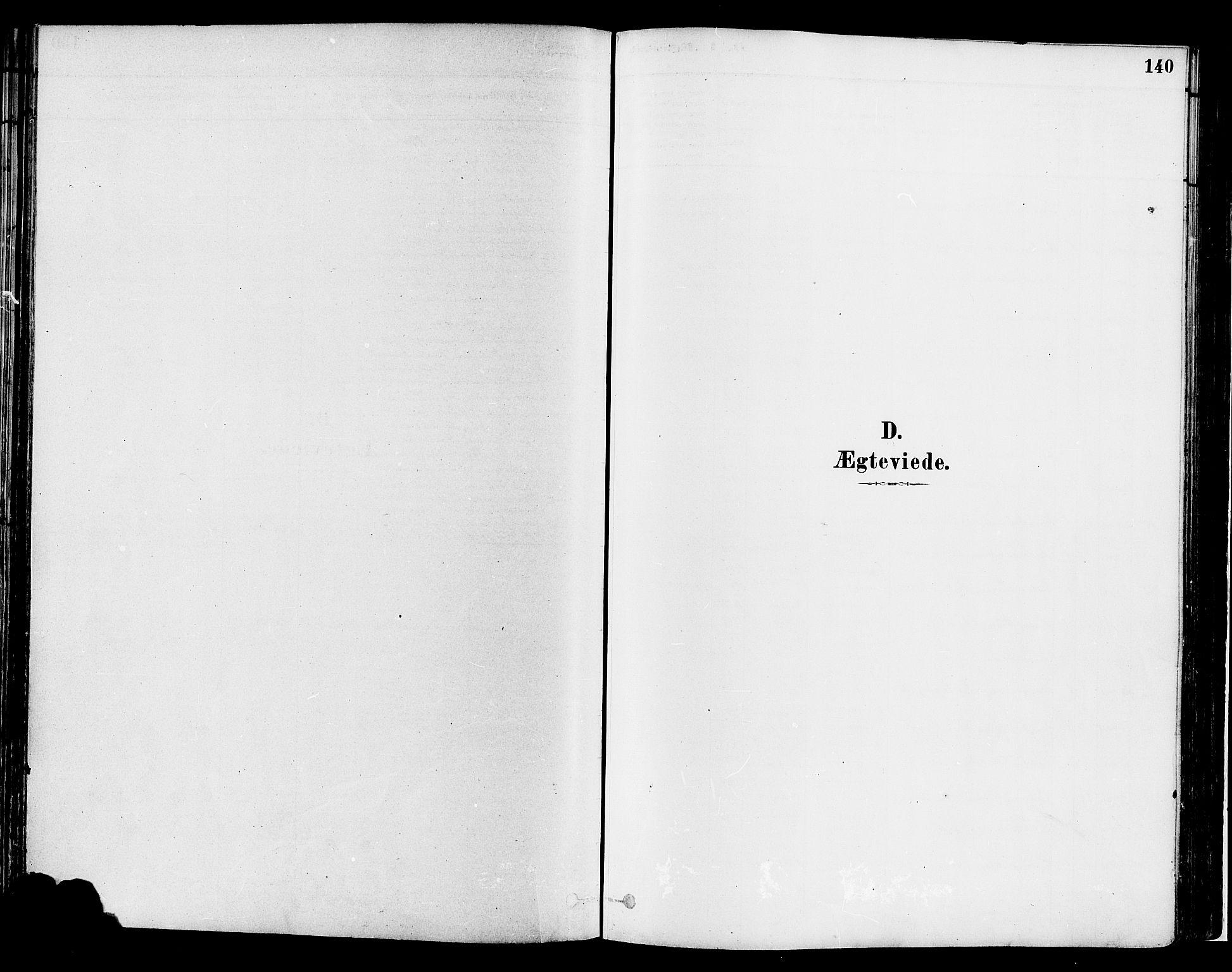 SAH, Gran prestekontor, Ministerialbok nr. 14, 1880-1889, s. 140