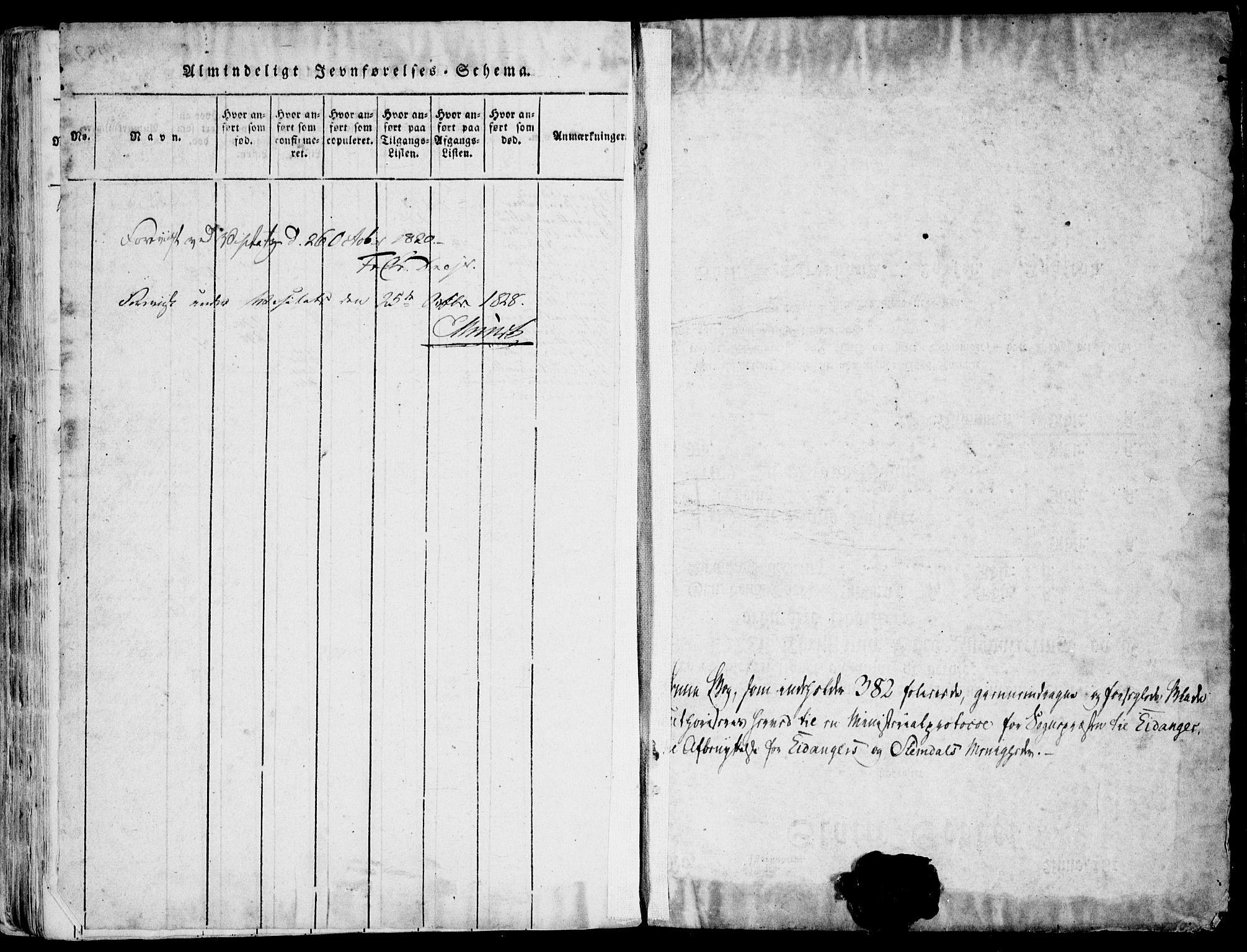 SAKO, Eidanger kirkebøker, F/Fa/L0007: Ministerialbok nr. 7, 1814-1831