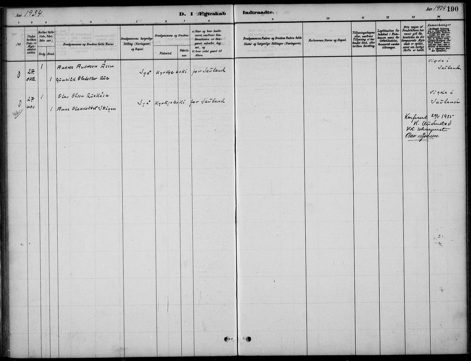 SAKO, Hjartdal kirkebøker, F/Fc/L0002: Ministerialbok nr. III 2, 1880-1936, s. 190