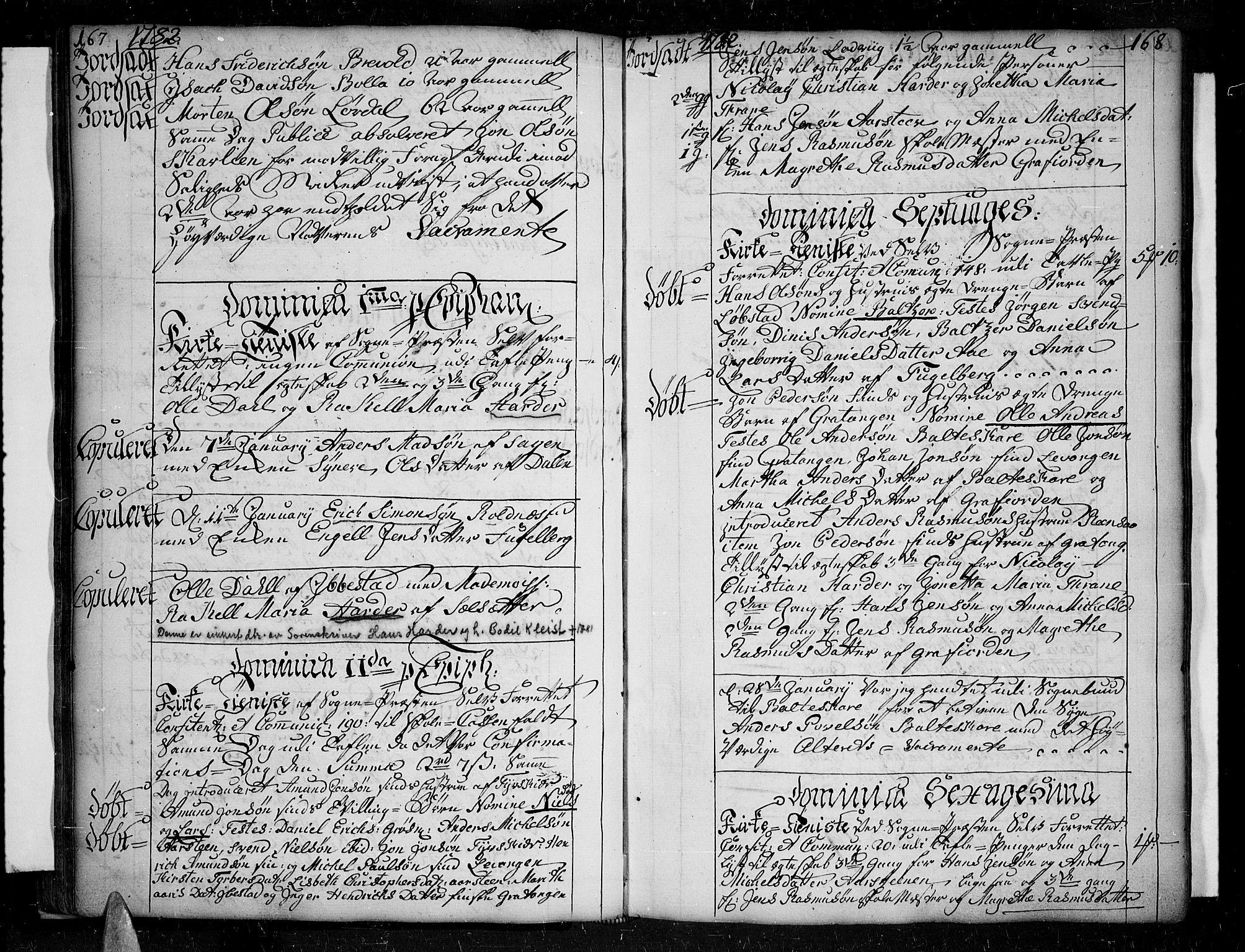 SATØ, Ibestad sokneprestembete, H/Ha/Haa/L0003kirke: Ministerialbok nr. 3, 1776-1801, s. 167-168