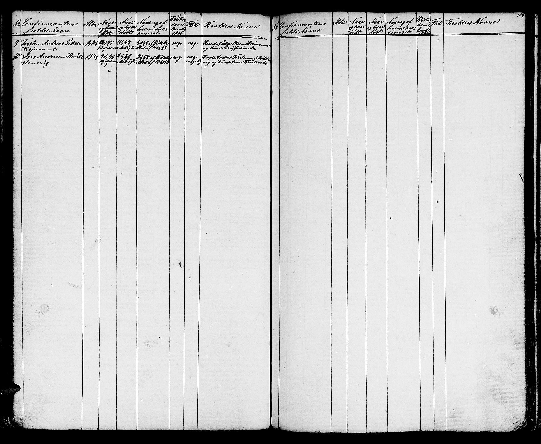 SAT, Ministerialprotokoller, klokkerbøker og fødselsregistre - Sør-Trøndelag, 616/L0422: Klokkerbok nr. 616C05, 1850-1888, s. 109