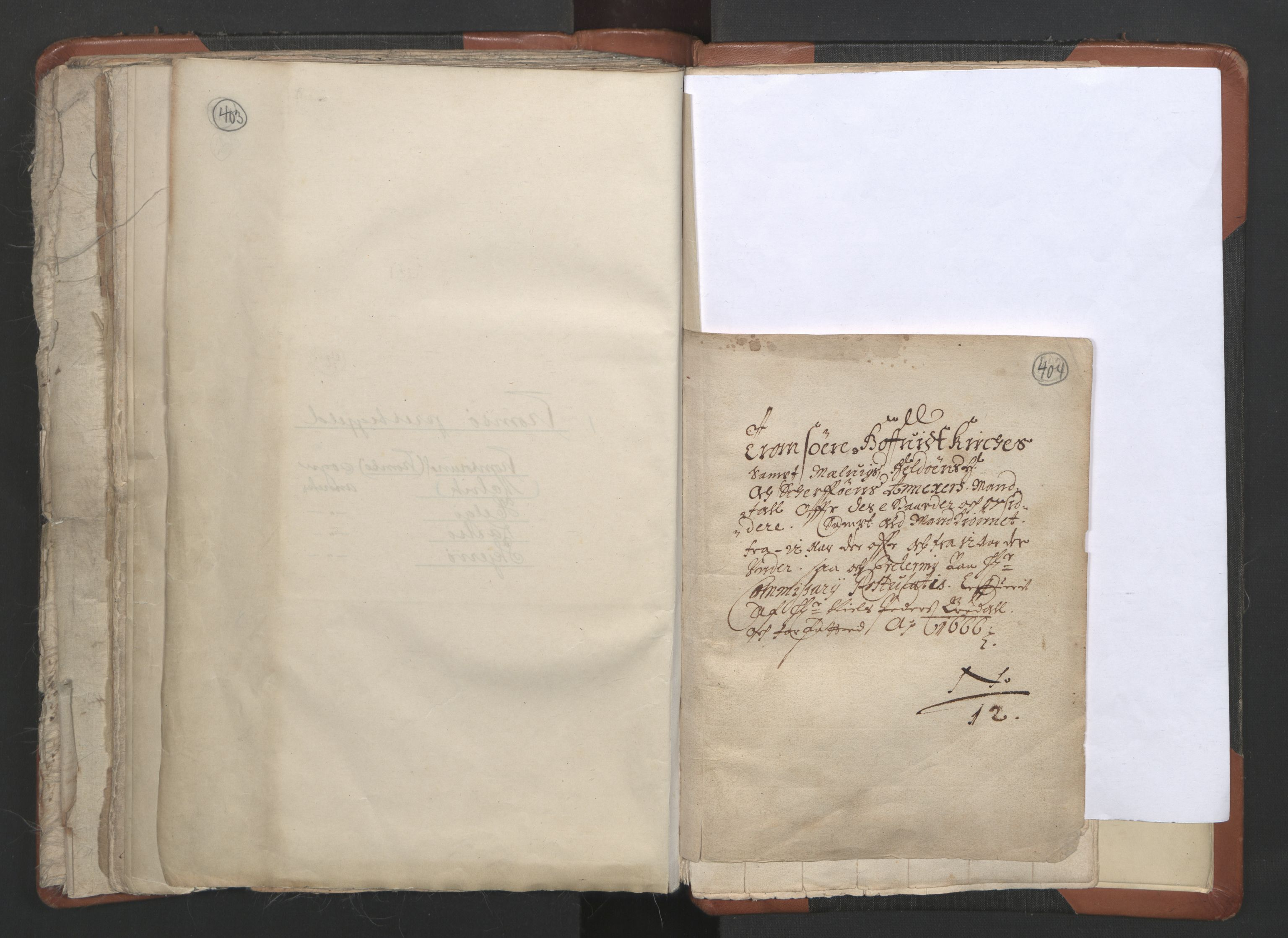 RA, Sogneprestenes manntall 1664-1666, nr. 36: Lofoten og Vesterålen prosti, Senja prosti og Troms prosti, 1664-1666, s. 403-404