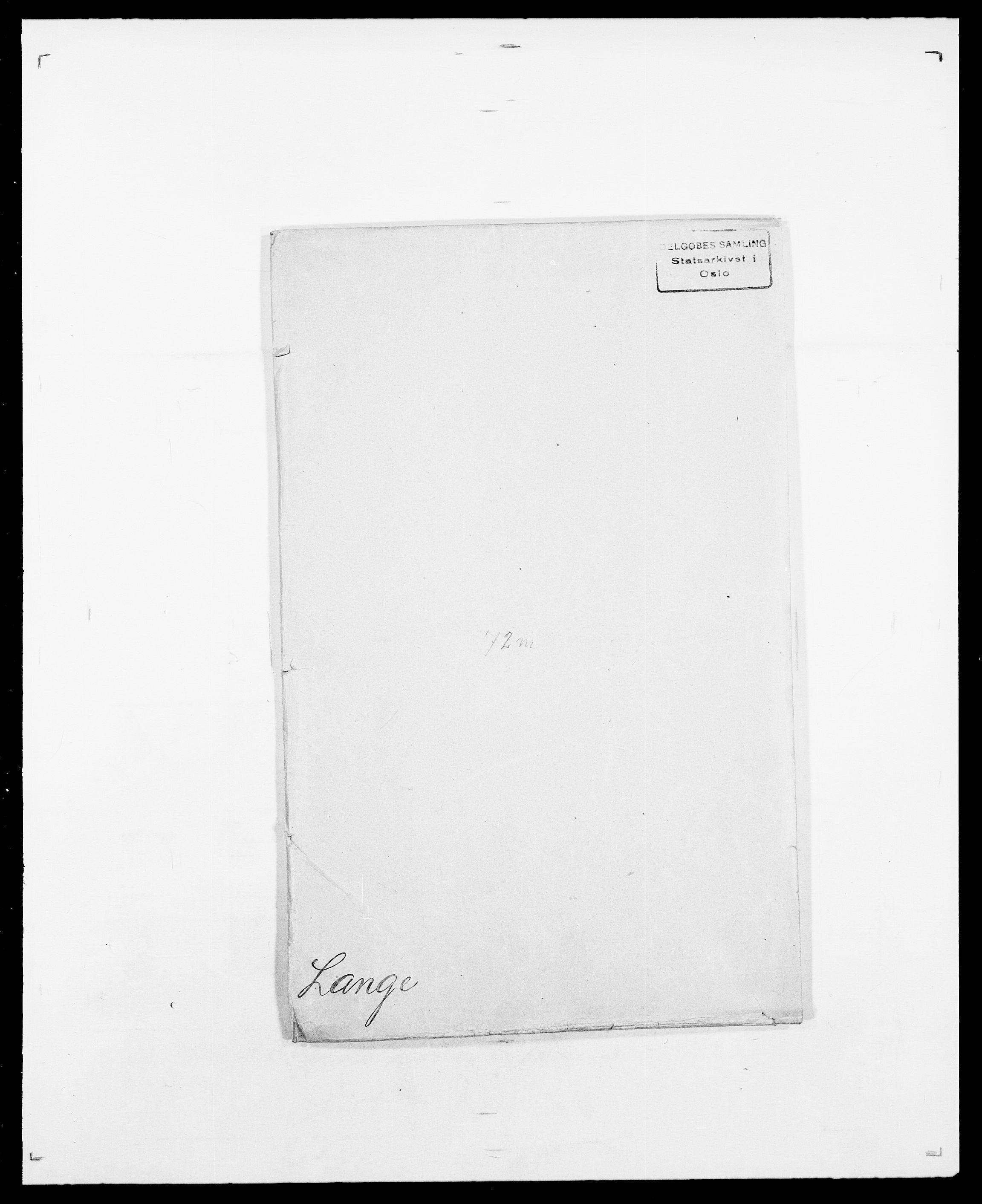 SAO, Delgobe, Charles Antoine - samling, D/Da/L0022: Krog - Lasteen, s. 566