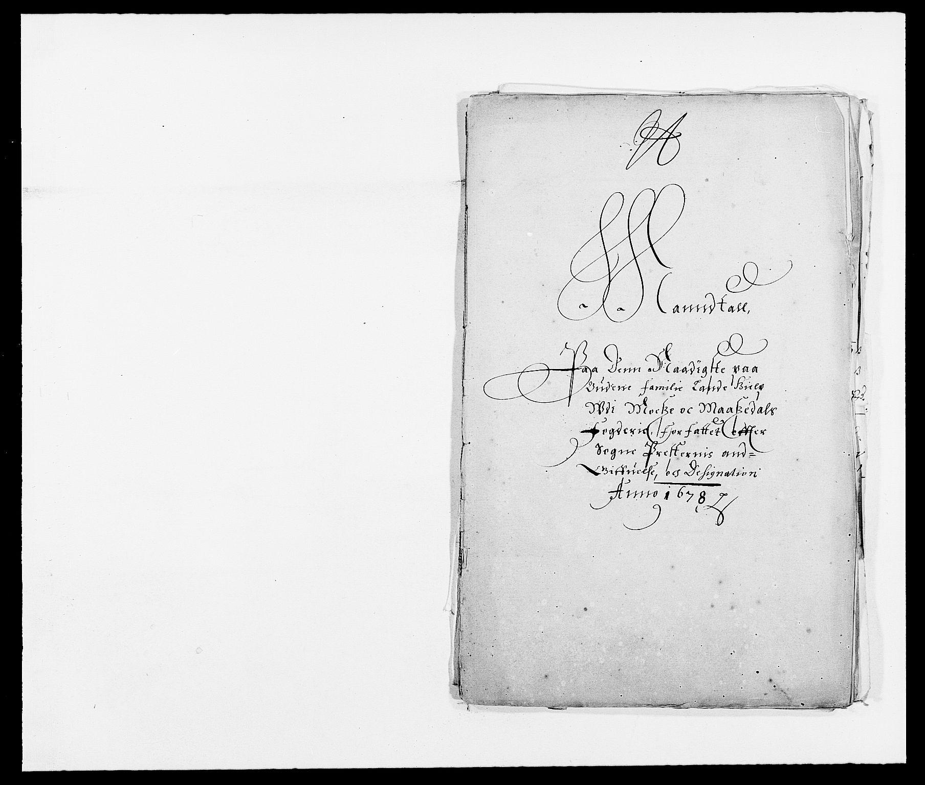 RA, Rentekammeret inntil 1814, Reviderte regnskaper, Fogderegnskap, R02/L0099: Fogderegnskap Moss og Verne kloster, 1678, s. 348