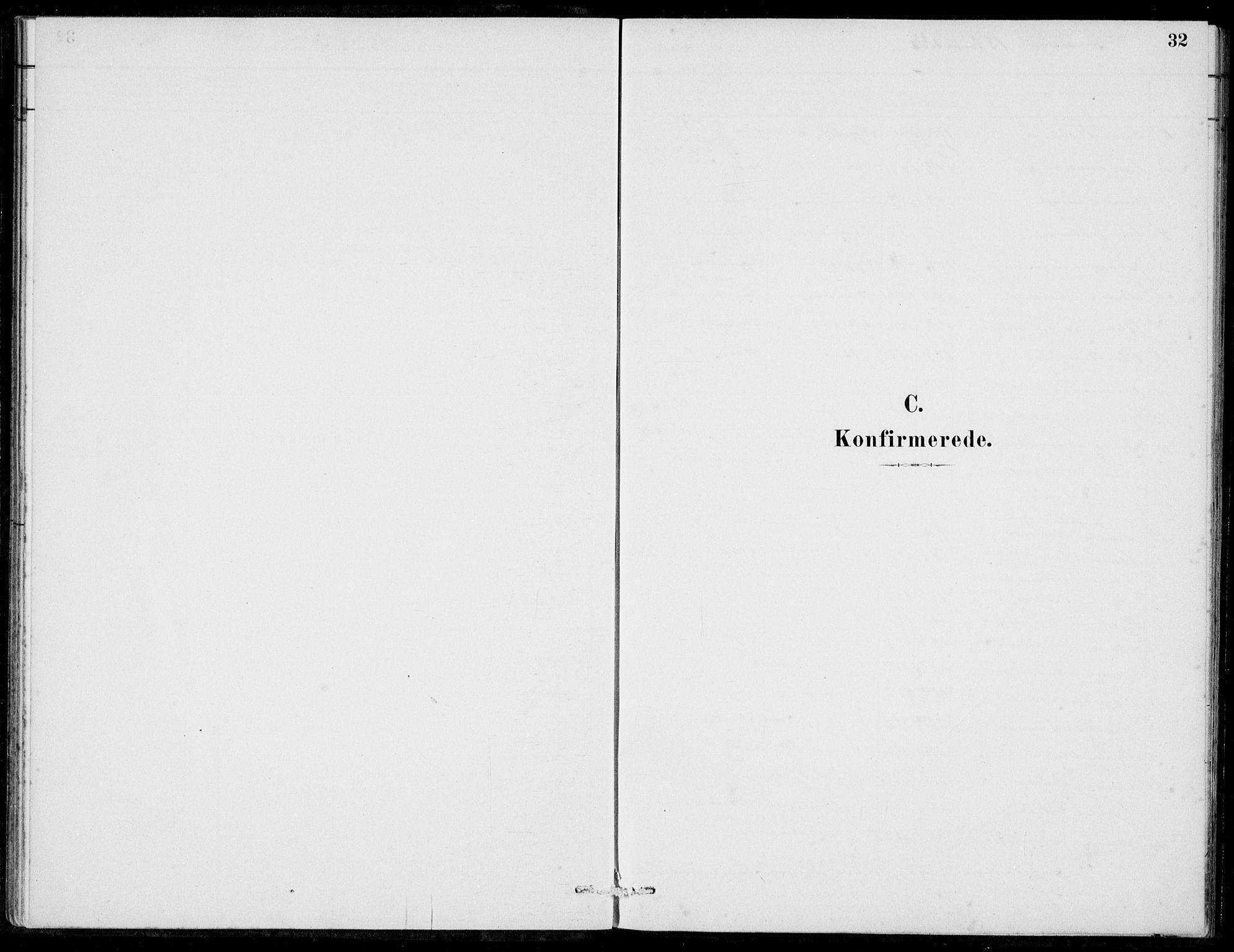 SAB, Hosanger Sokneprestembete, H/Haa: Ministerialbok nr. C  1, 1880-1900, s. 32