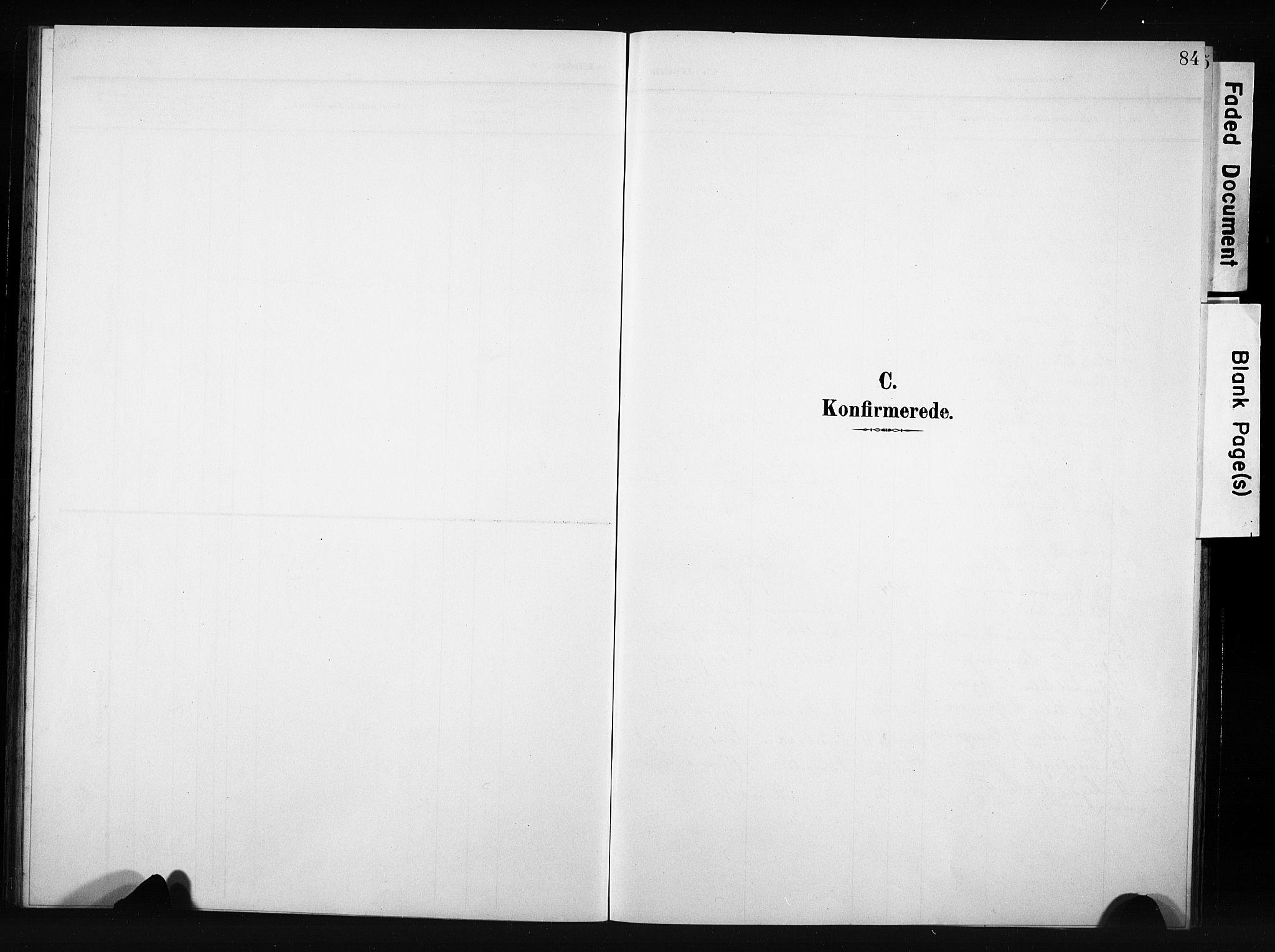 SAH, Nordre Land prestekontor, Klokkerbok nr. 6, 1905-1929, s. 84