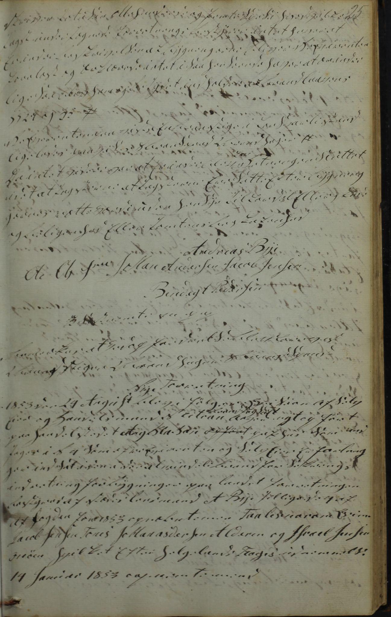AIN, Lurøy kommune. Formannskapet, 100/L0001: Møtebok, 1836-1898, s. 25