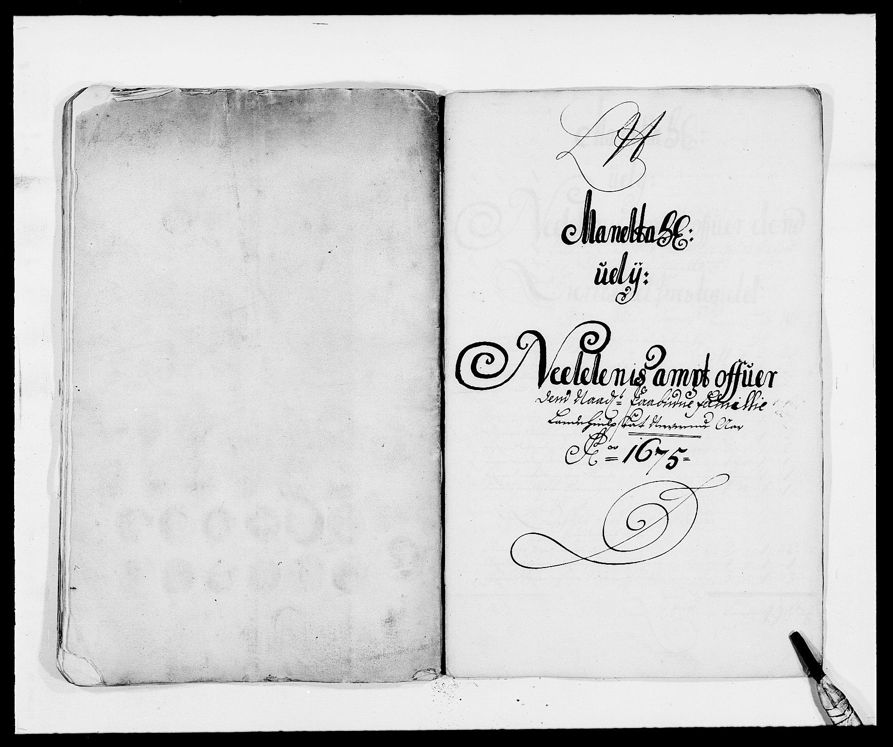 RA, Rentekammeret inntil 1814, Reviderte regnskaper, Fogderegnskap, R39/L2301: Fogderegnskap Nedenes, 1675-1676, s. 155