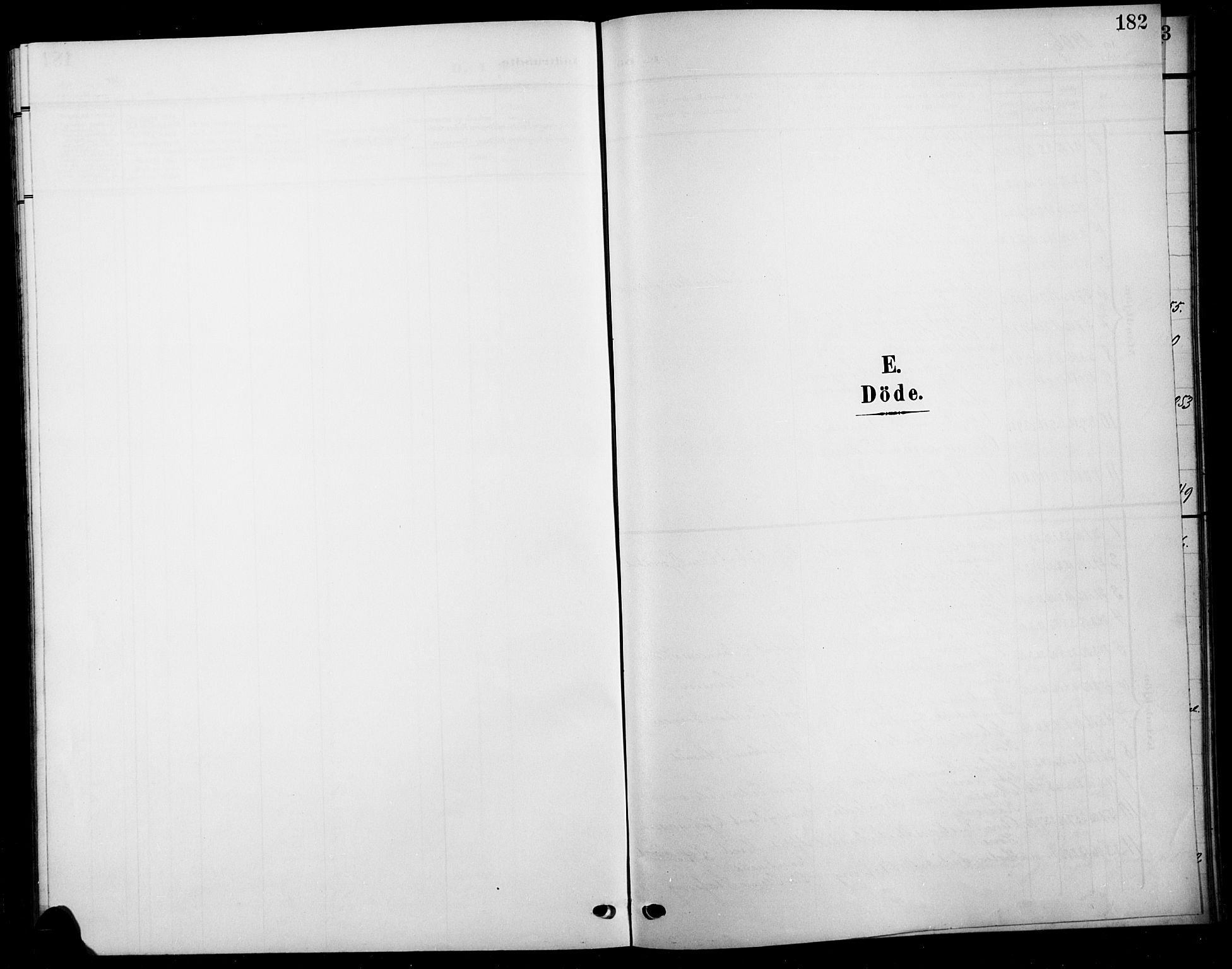 SAH, Biri prestekontor, Klokkerbok nr. 5, 1906-1919, s. 182