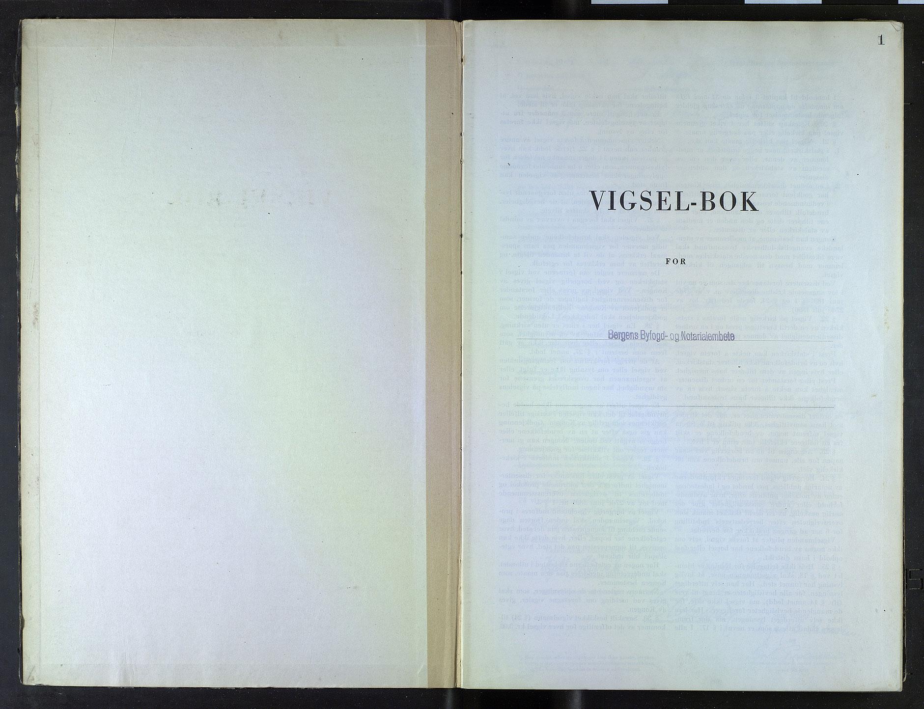 SAB, Bergen byfogd og byskriver*, 1946-1947, s. 1