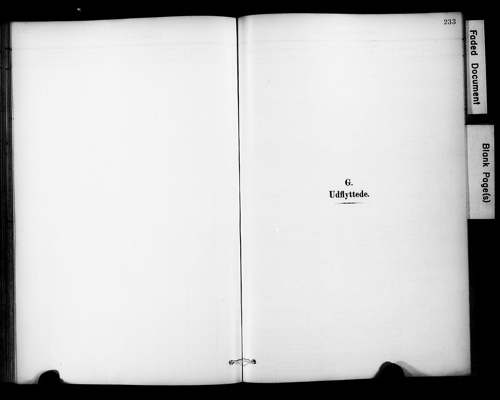 SAT, Ministerialprotokoller, klokkerbøker og fødselsregistre - Sør-Trøndelag, 681/L0936: Ministerialbok nr. 681A14, 1899-1908, s. 233