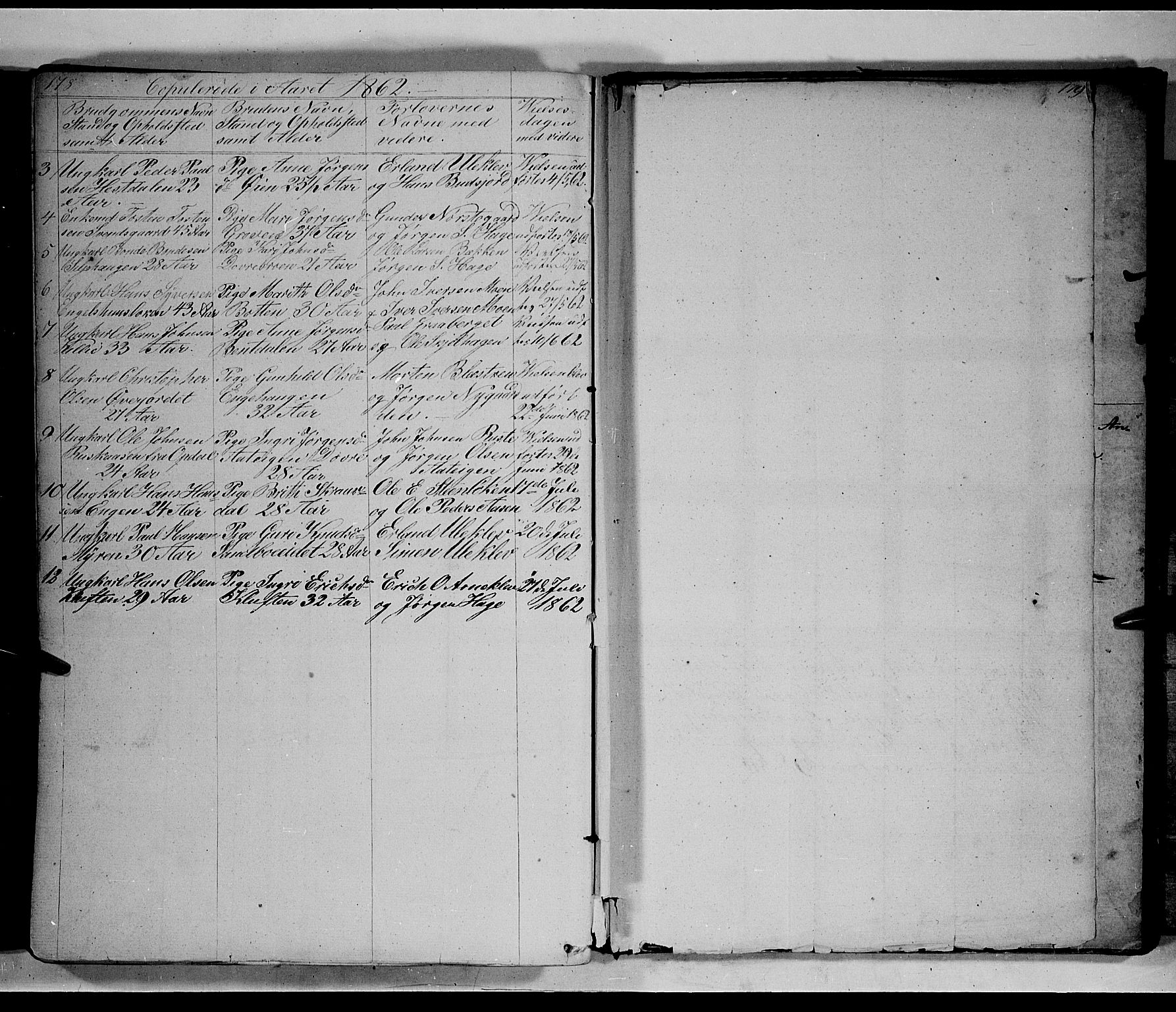 SAH, Lesja prestekontor, Klokkerbok nr. 3, 1842-1862, s. 278-279