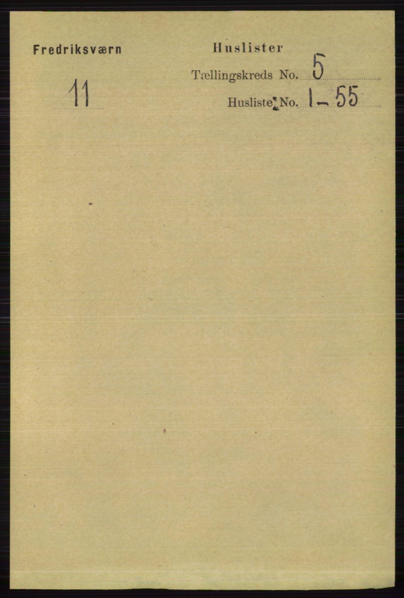 RA, Folketelling 1891 for 0798 Fredriksvern herred, 1891, s. 975