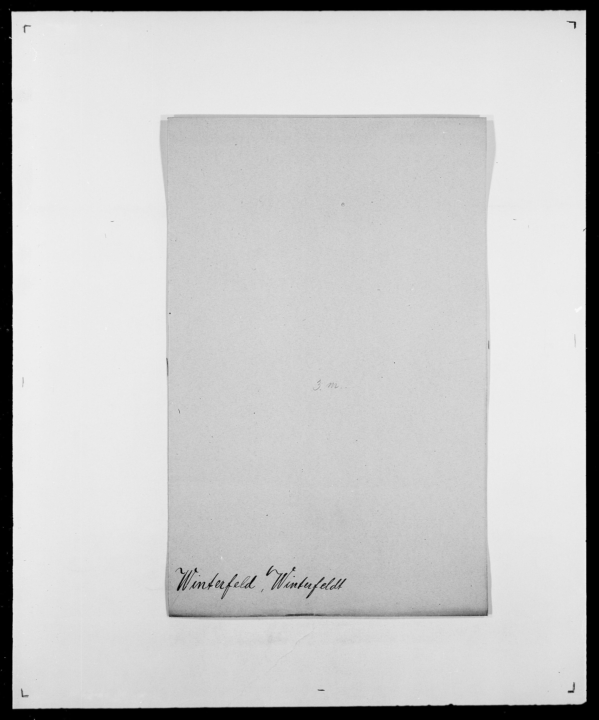 SAO, Delgobe, Charles Antoine - samling, D/Da/L0042: Vilain - Wulf, Wulff, se også Wolf, s. 293