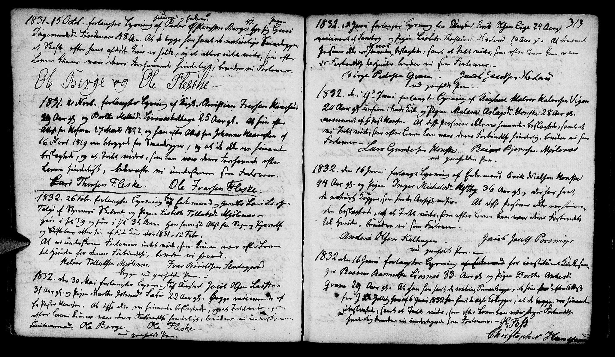 SAST, Finnøy sokneprestkontor, H/Ha/Haa/L0005: Ministerialbok nr. A 5, 1773-1816, s. 313