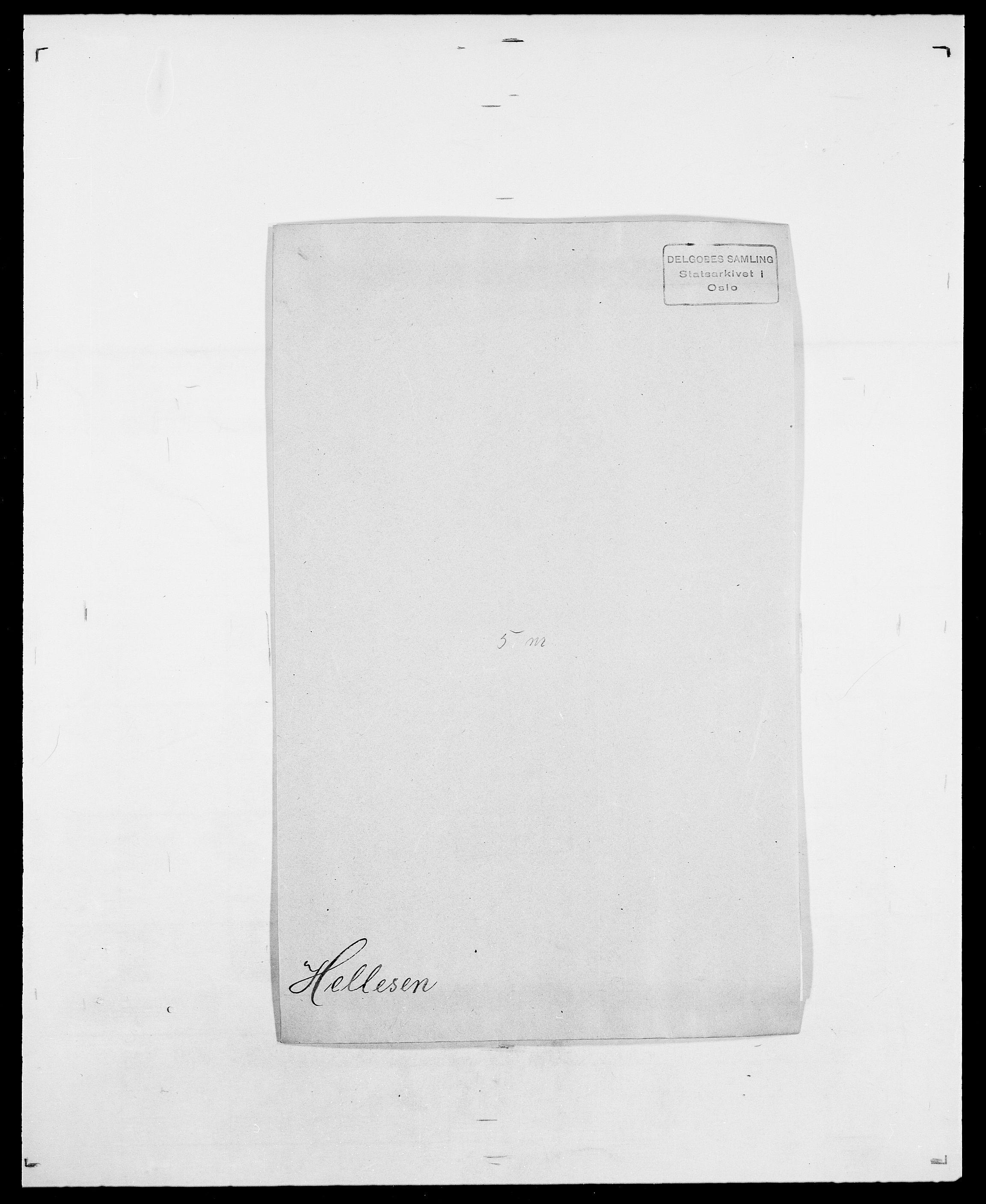 SAO, Delgobe, Charles Antoine - samling, D/Da/L0017: Helander - Hjørne, s. 69