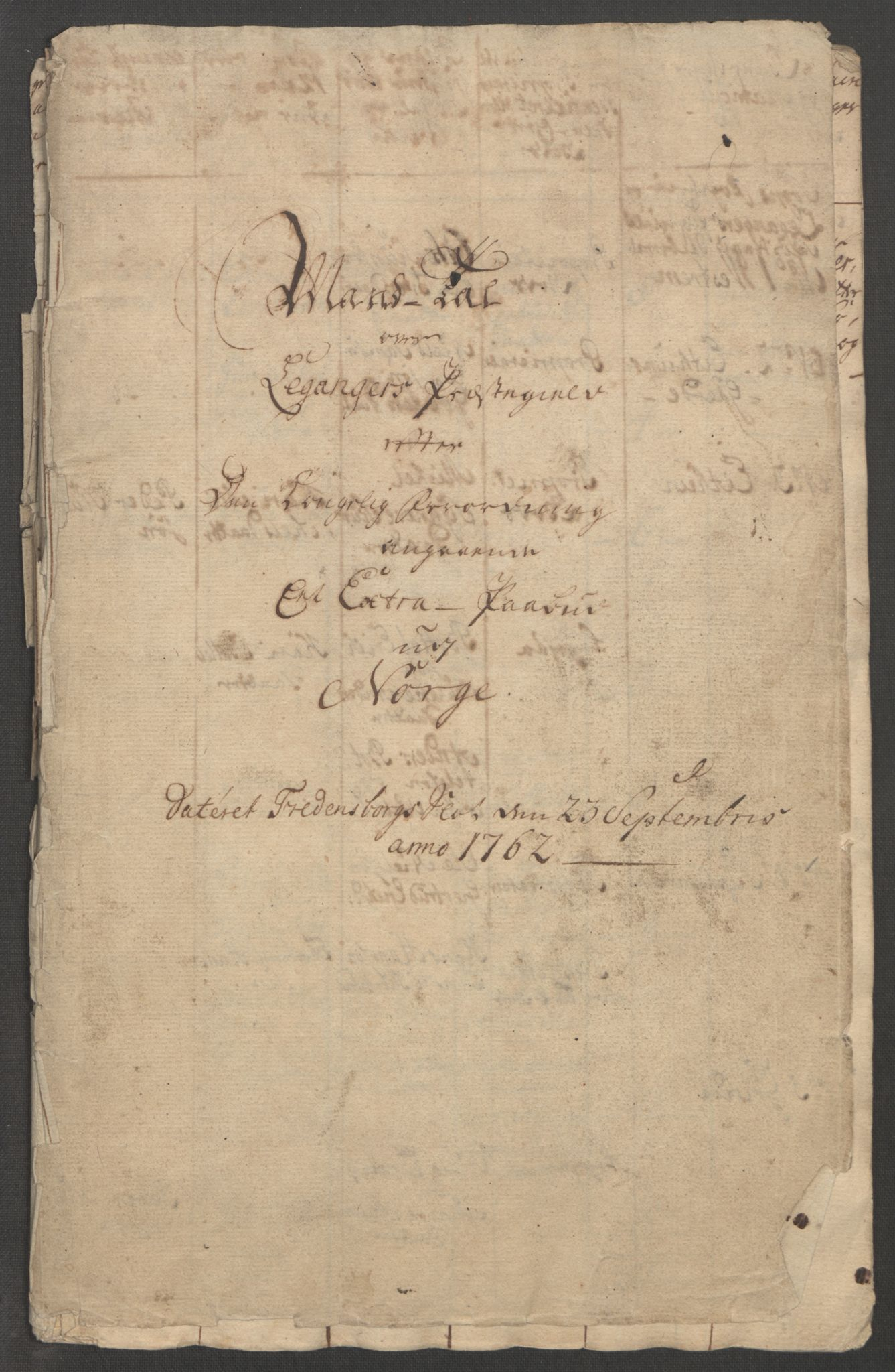 RA, Rentekammeret inntil 1814, Reviderte regnskaper, Fogderegnskap, R52/L3418: Ekstraskatten Sogn, 1762-1769, s. 213