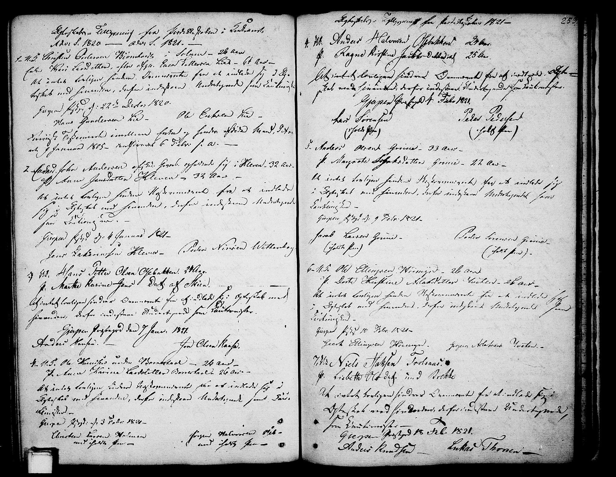 SAKO, Gjerpen kirkebøker, F/Fa/L0003: Ministerialbok nr. 3, 1796-1814, s. 253