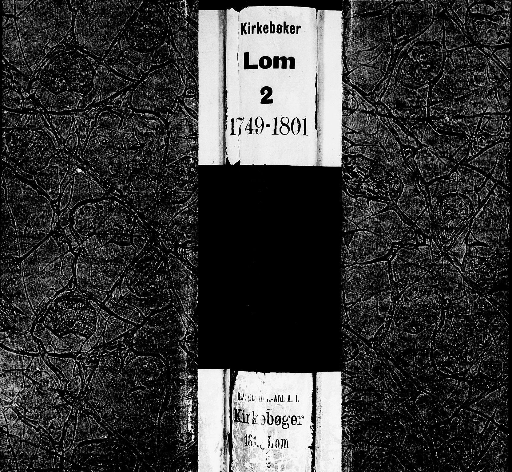 SAH, Lom prestekontor, K/L0002: Ministerialbok nr. 2, 1749-1801