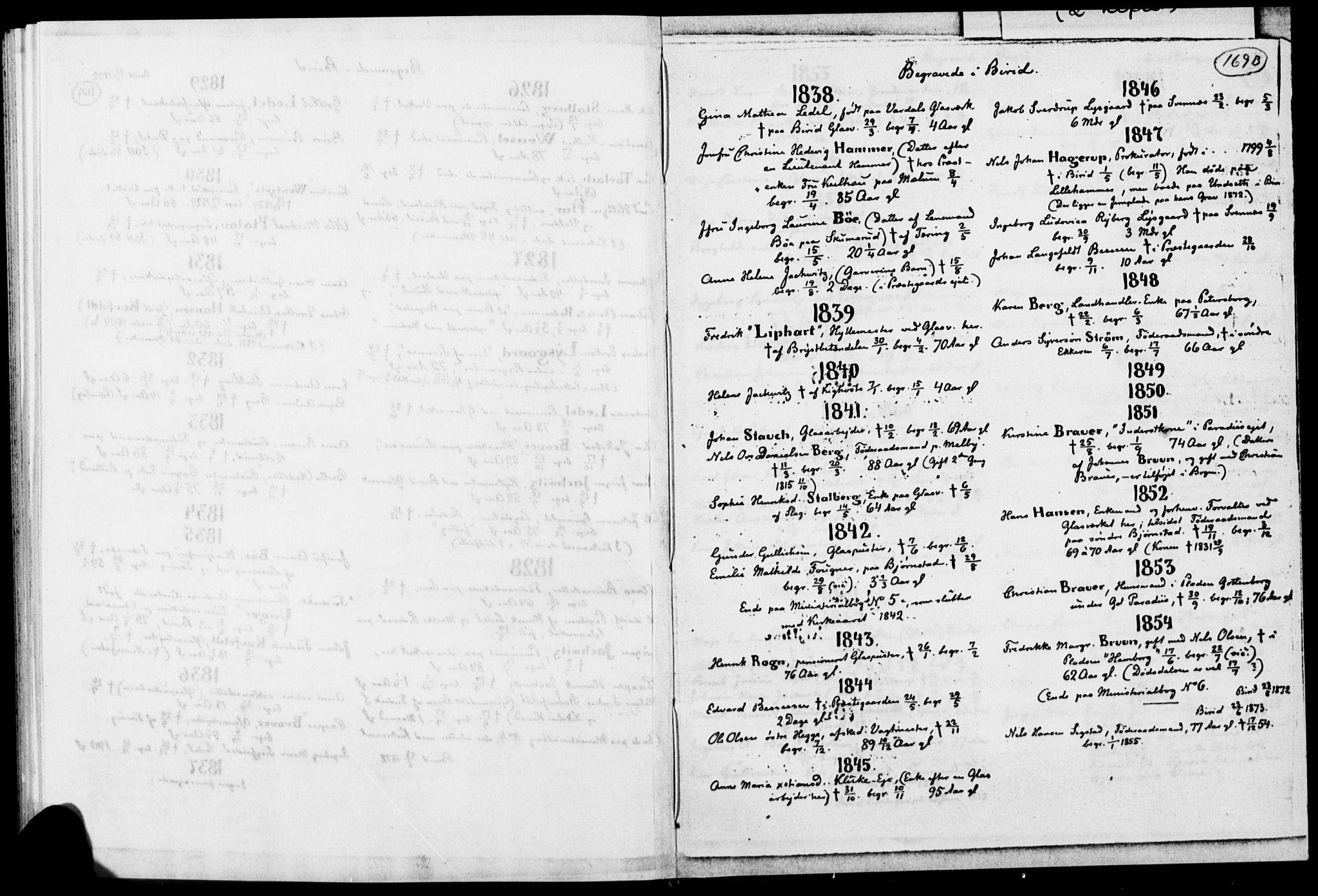 SAH, Biri prestekontor, Ministerialbok, 1730-1879, s. 169b